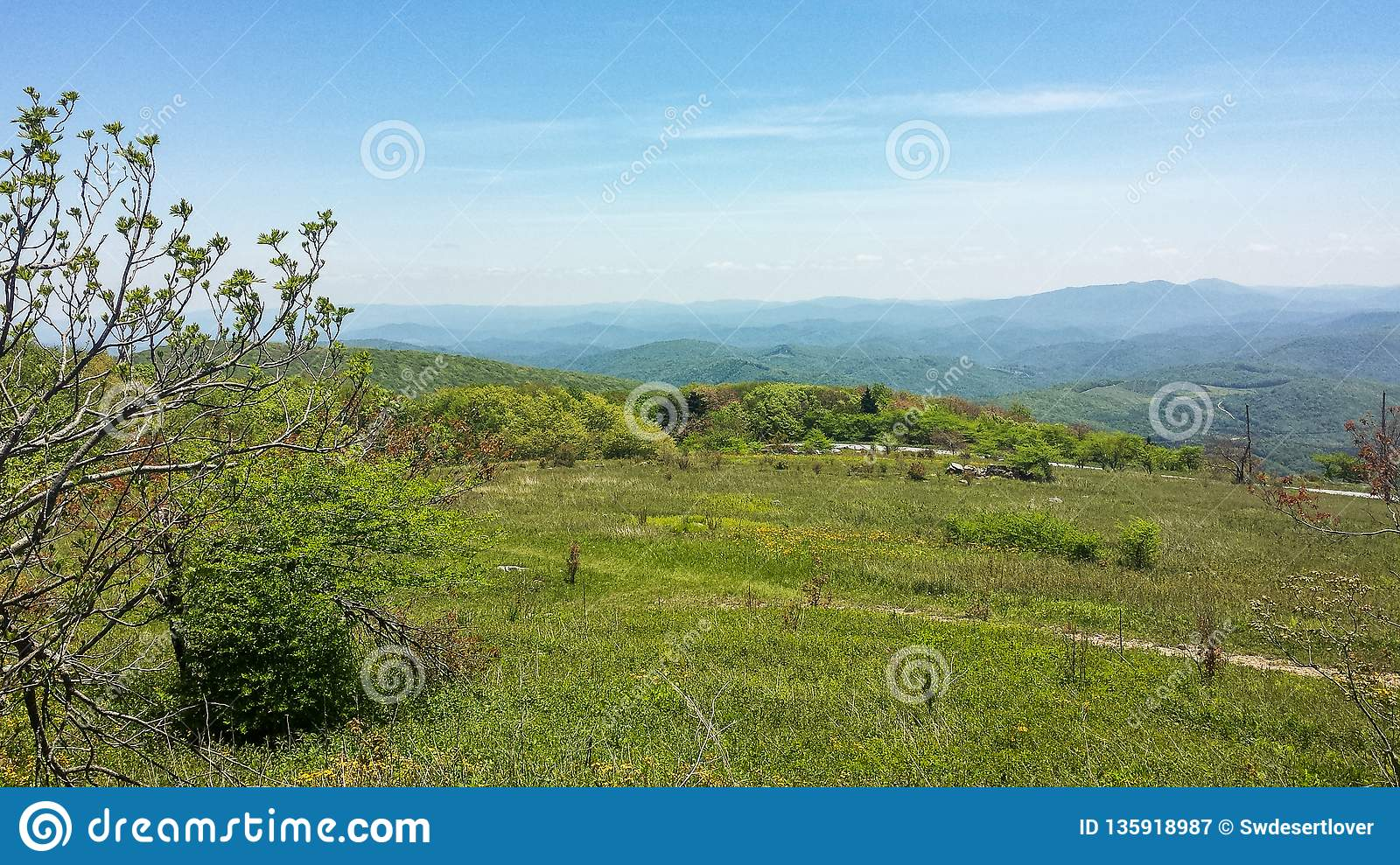 Landscape View from Blue Ridge Parkway