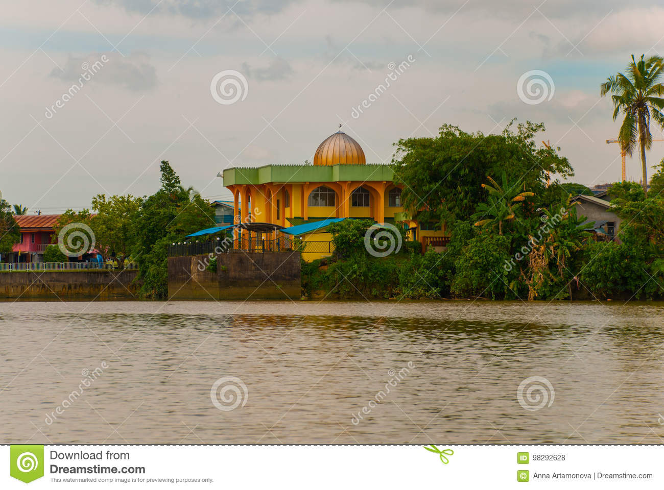 Landscape View Of The City And Sarawak River Small