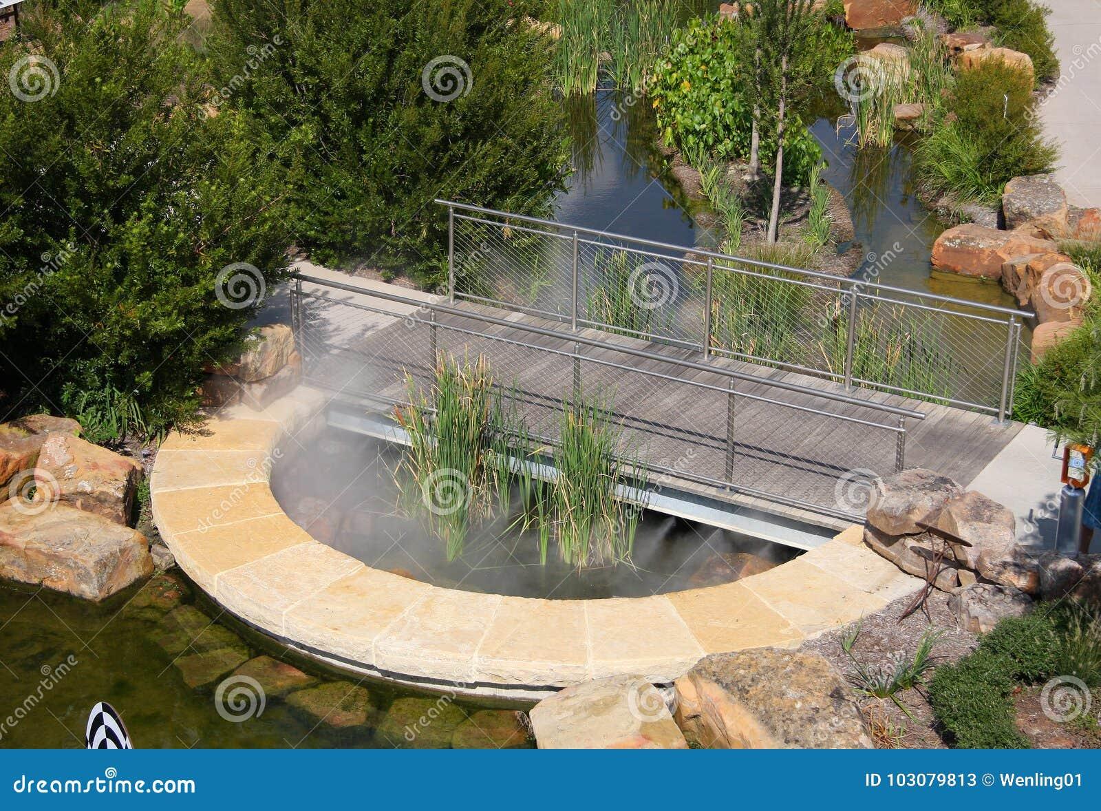Children Adventure Garden At Dallas Arboretum Stock Image Image Of Natural Landscapes 103079813