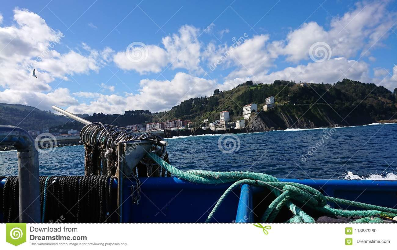 See sea stock photo  Image of industry, seen, sailors - 113683280