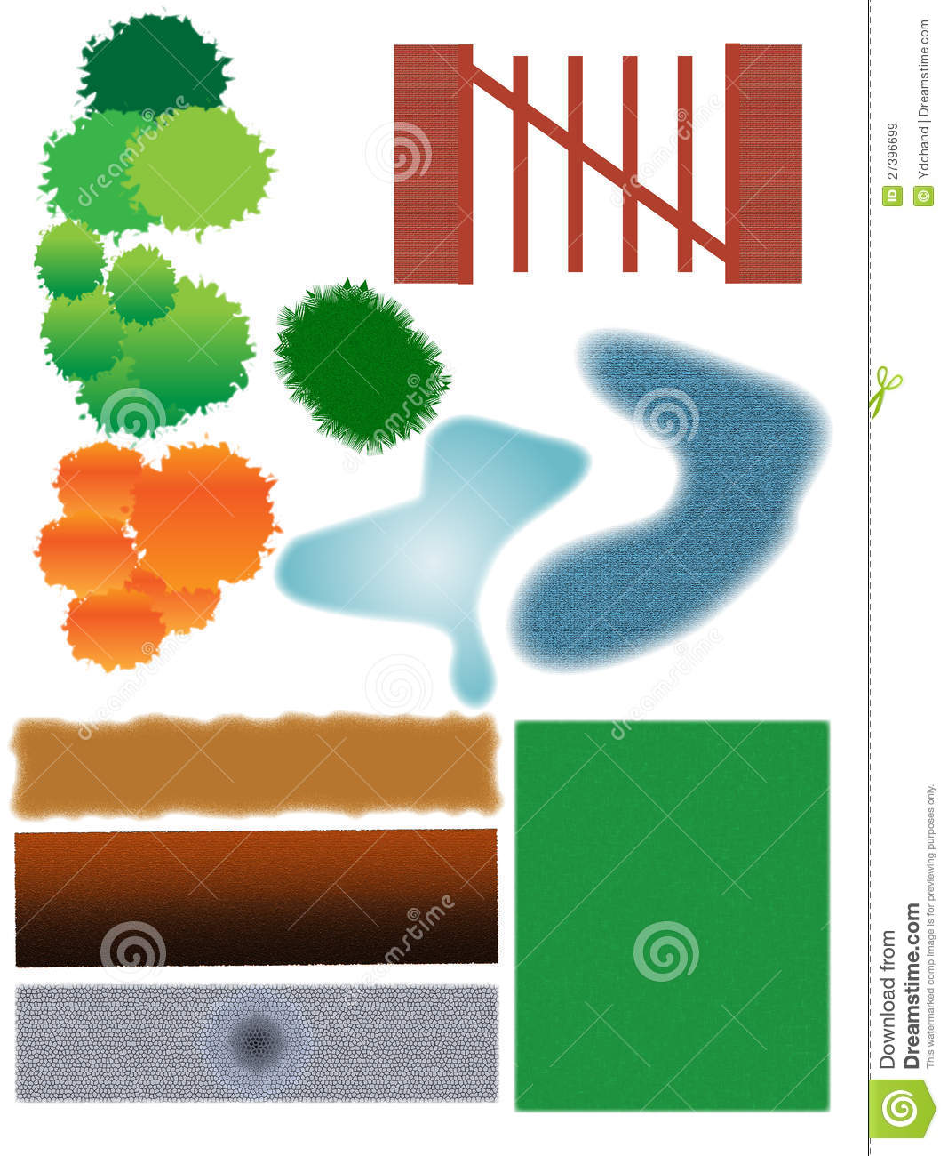 Landscaping icons royalty free stock images image 27396699 for Landscape design icons