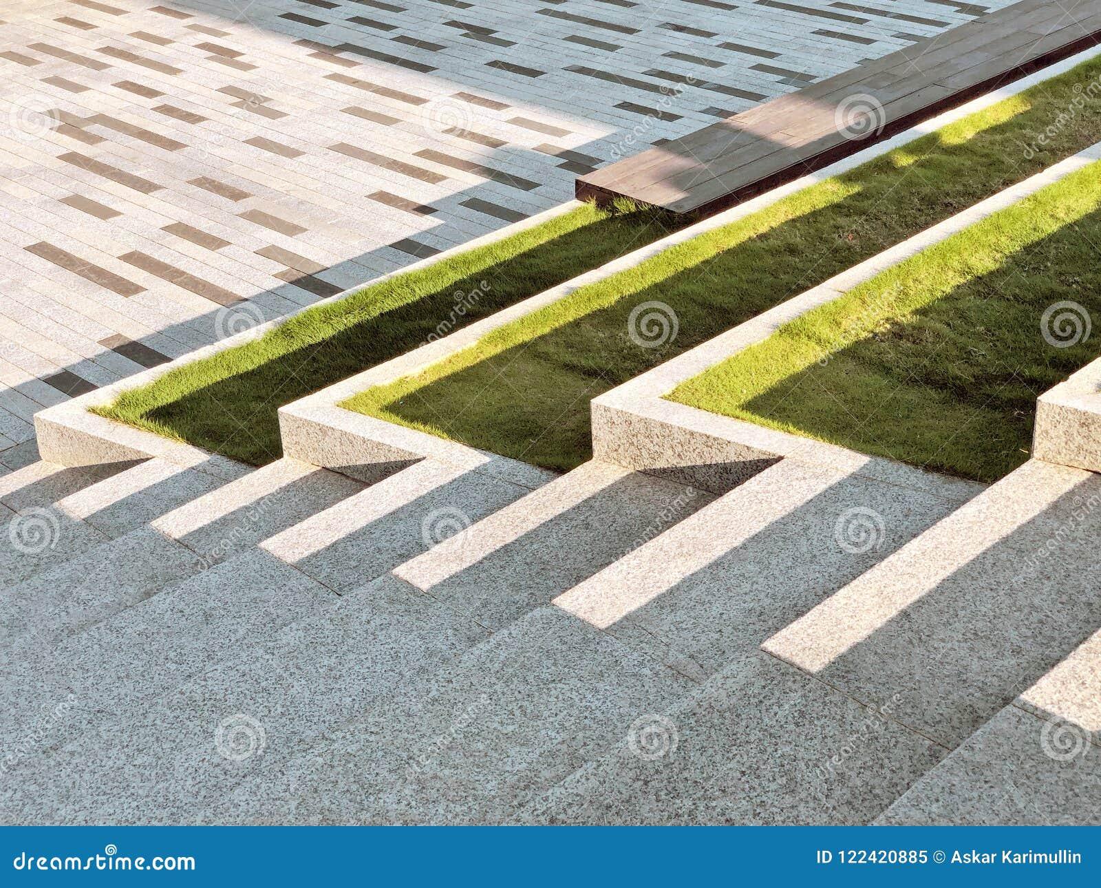 landscaping of modern park design stock image image of element rh dreamstime com modern design park models modern design park models