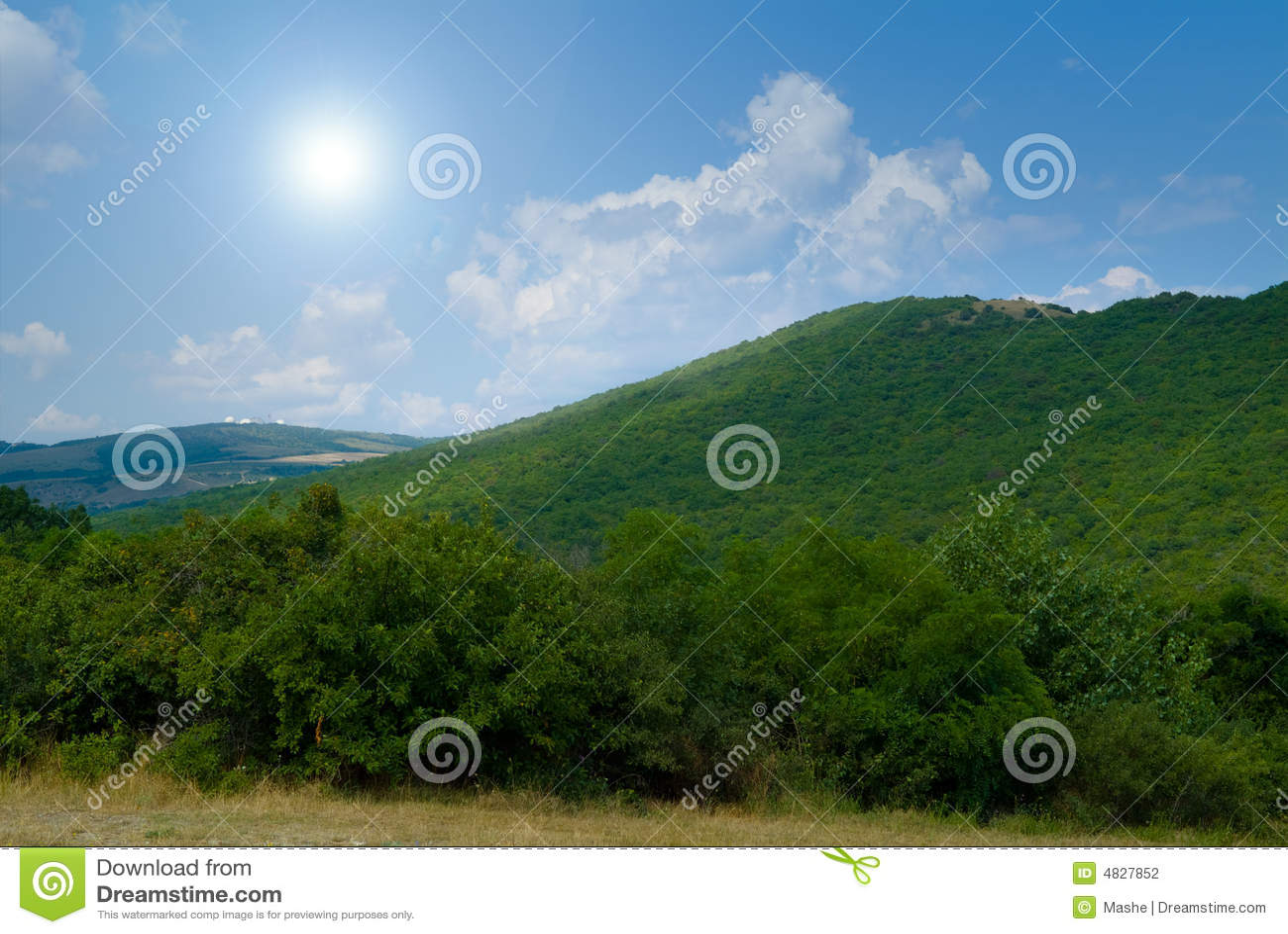 Landschaft.