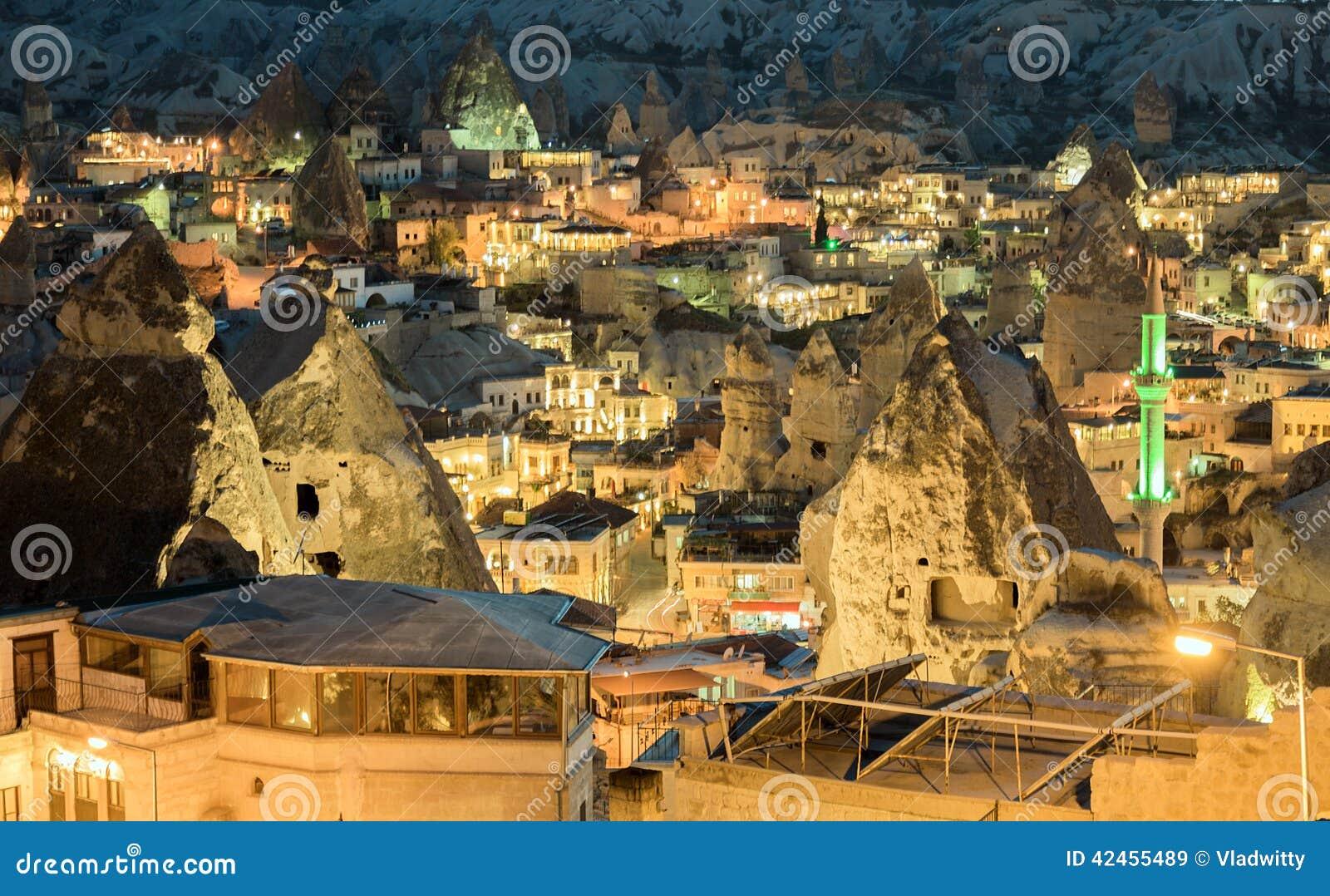 Landschaft auf GOREME Cappadocia die Türkei