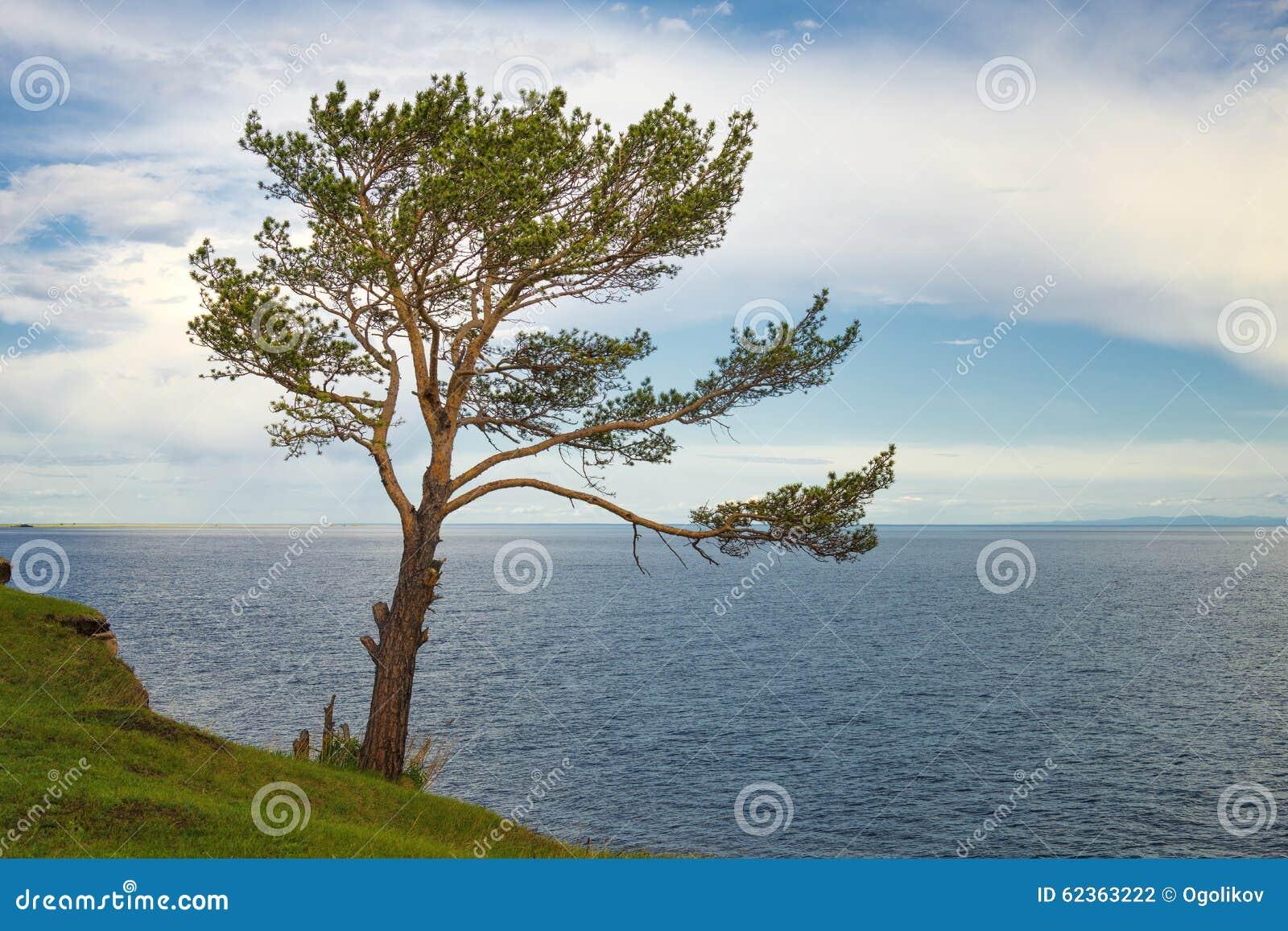 Landschaft beim Baikalsee