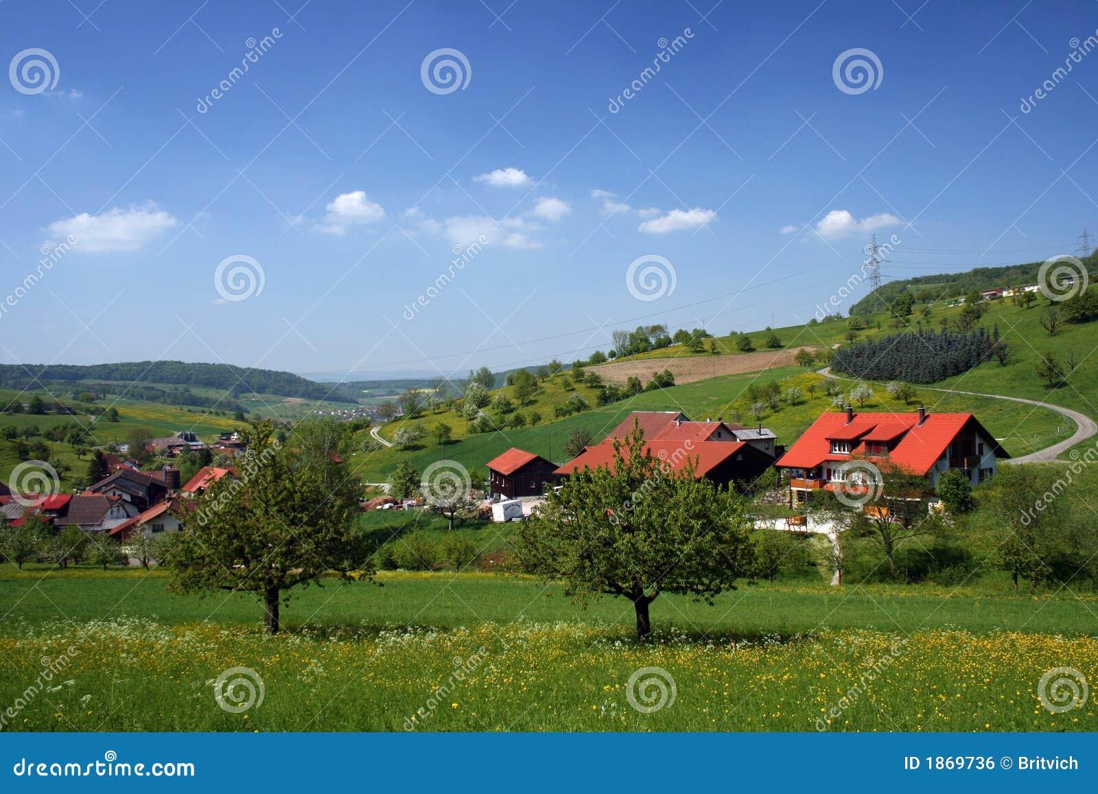 Landschaft-Schweizerlandschaft