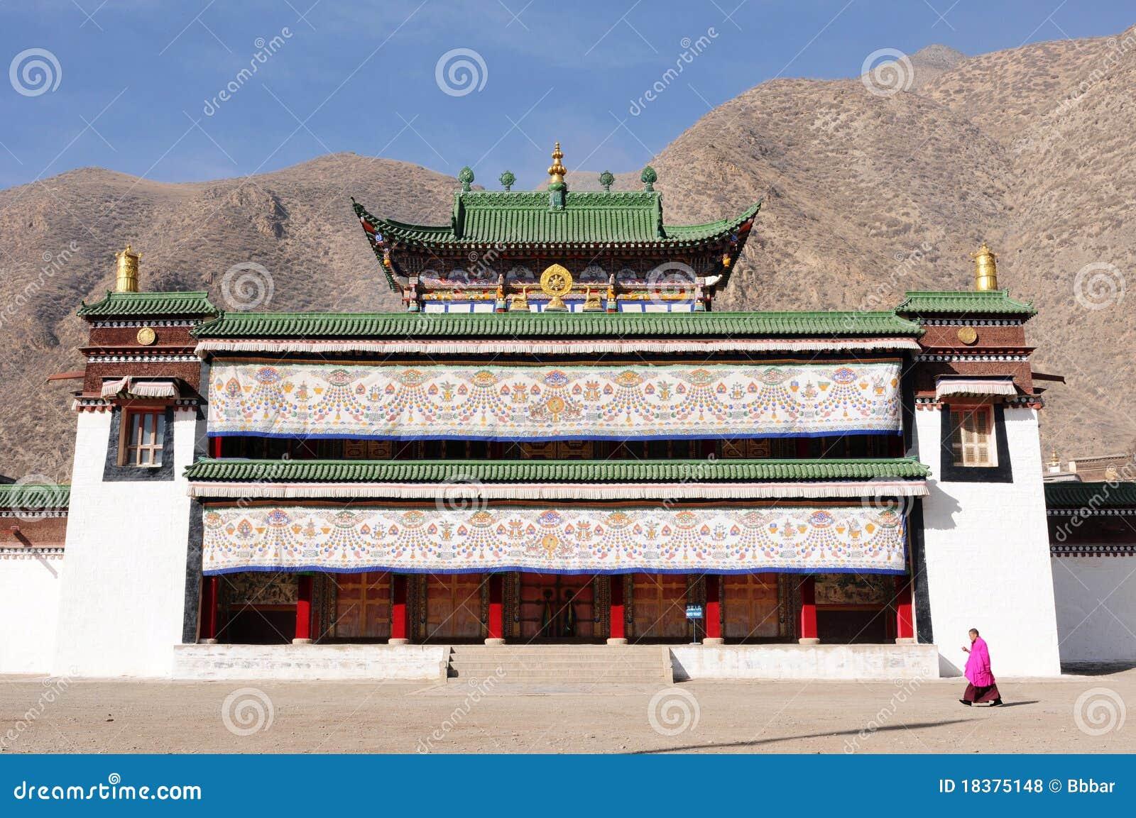 Landschaft in Tibet
