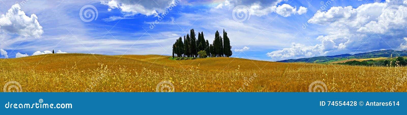 Landschaft, Toskana Val D Orcia