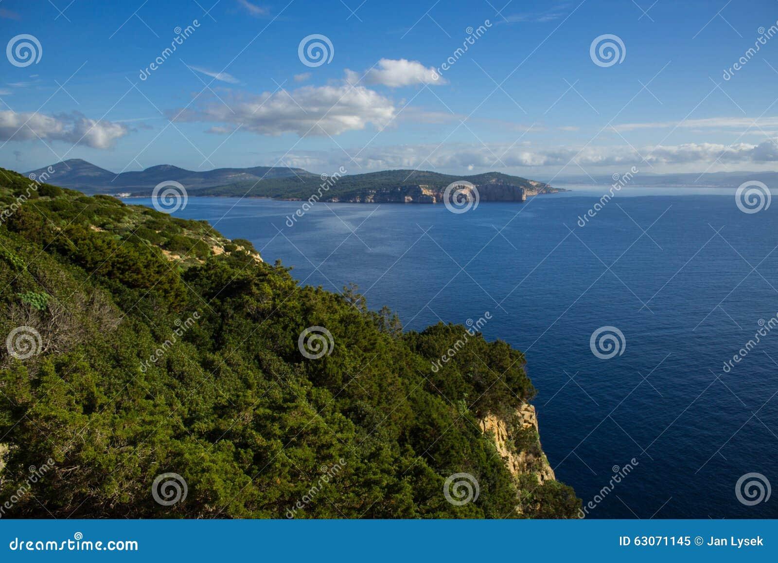 Landschaft von ihm Meer