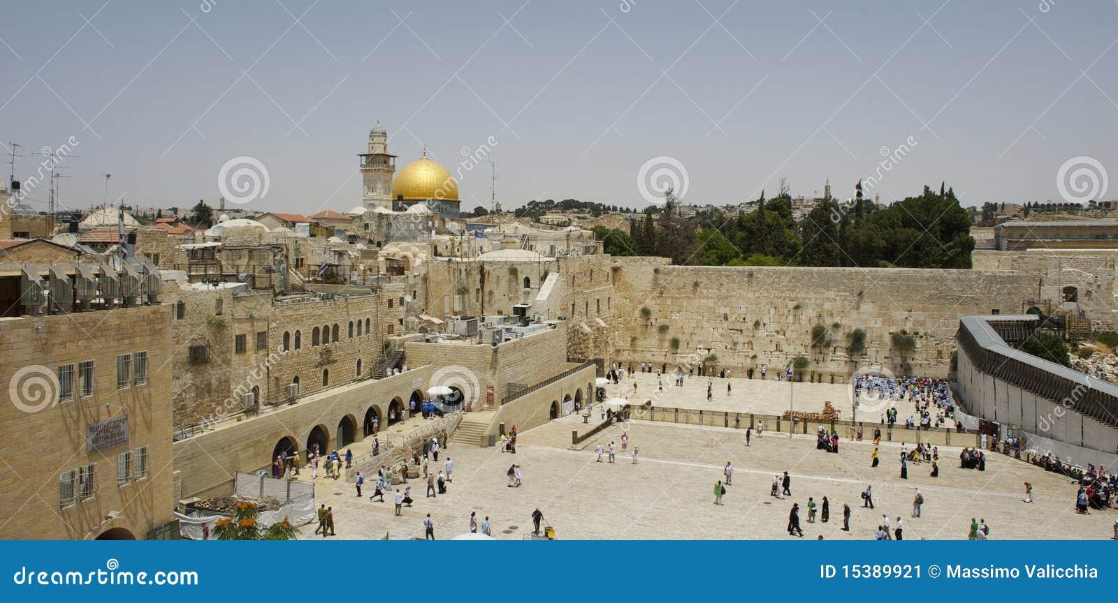 Landschaft von Jerusalem