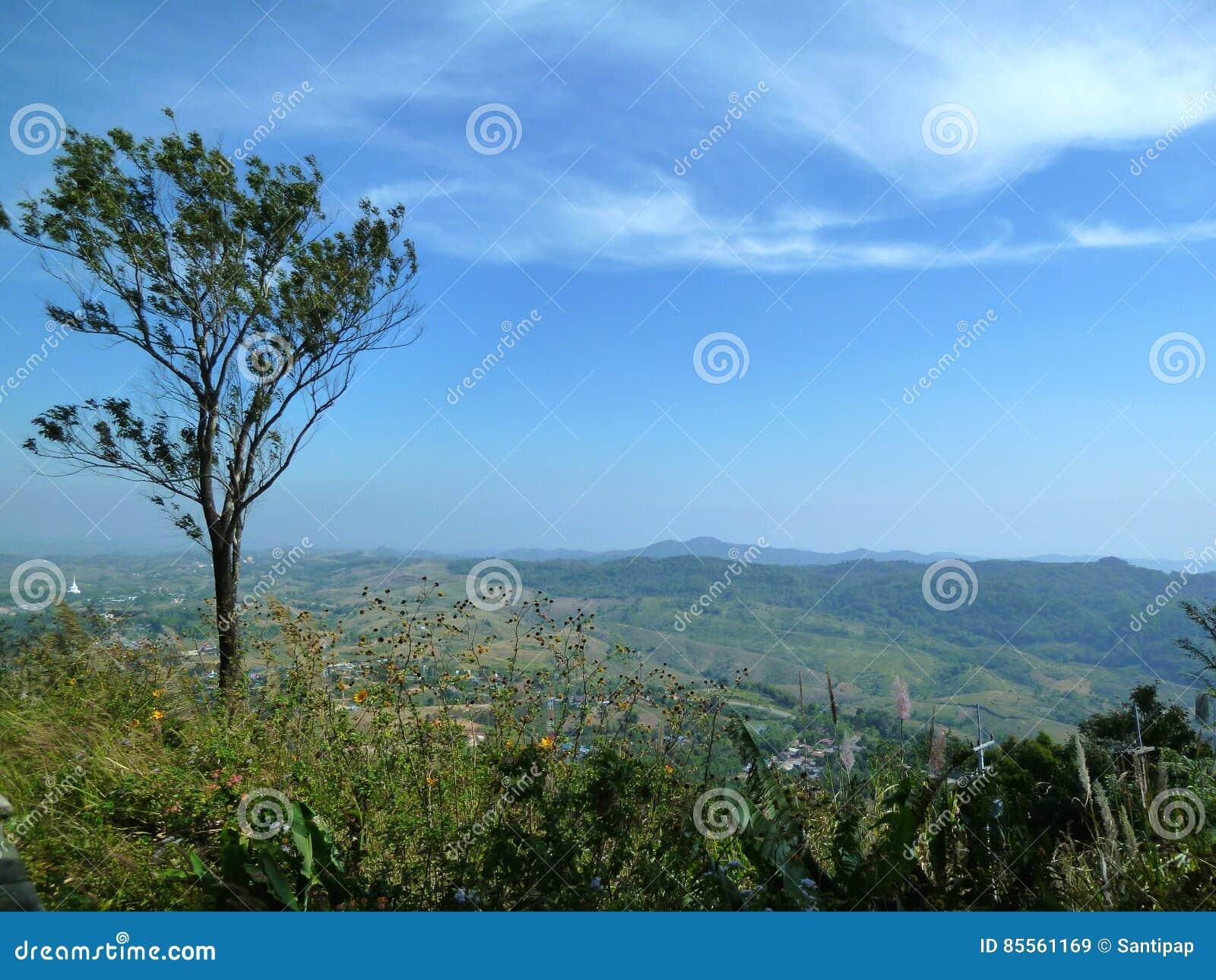 Landschaft von Khaokho-Berg