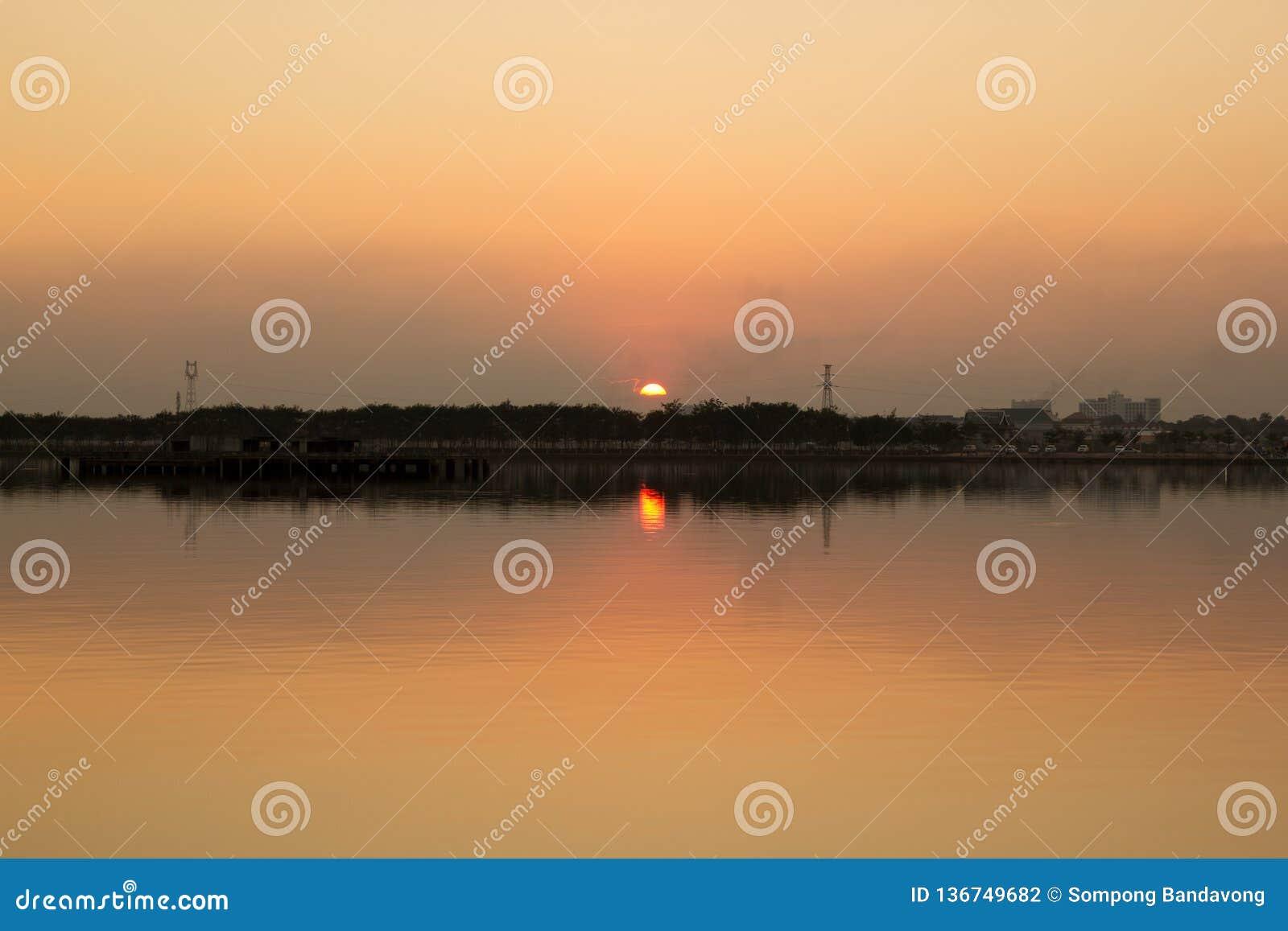 Landschaft von lakeview