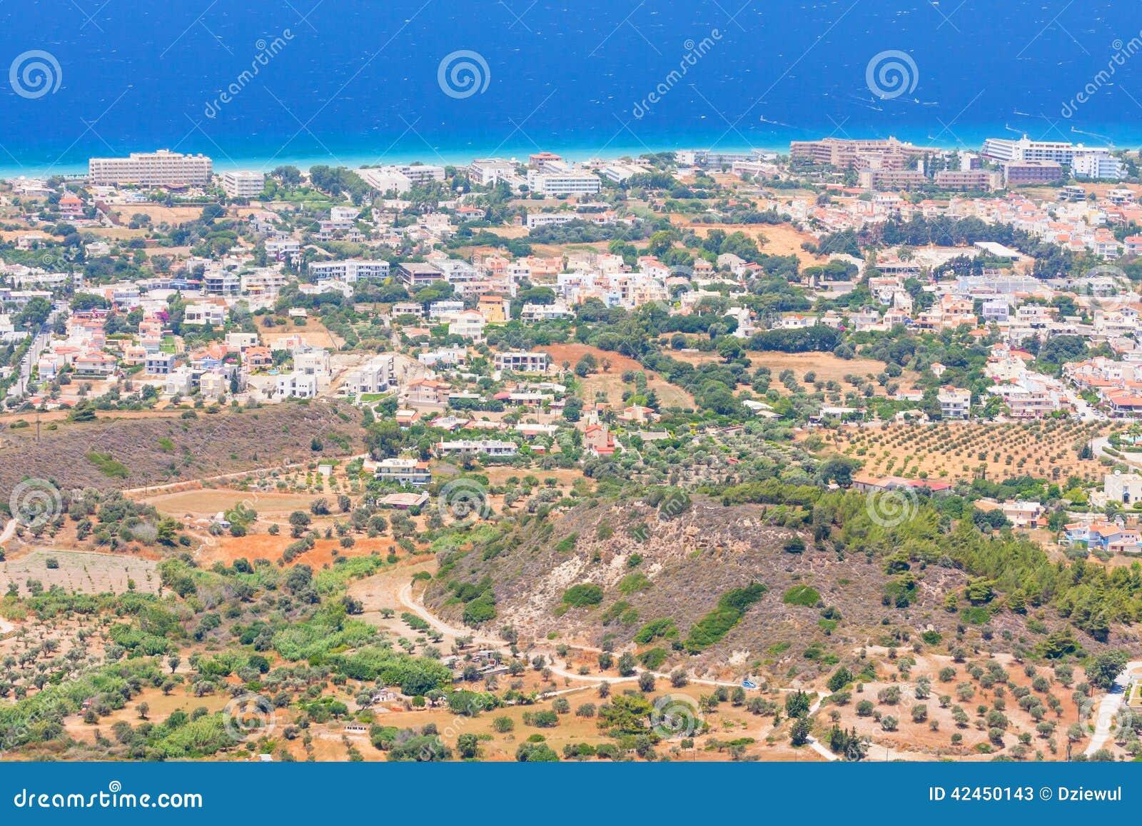 Landschaft von Rhodes Island