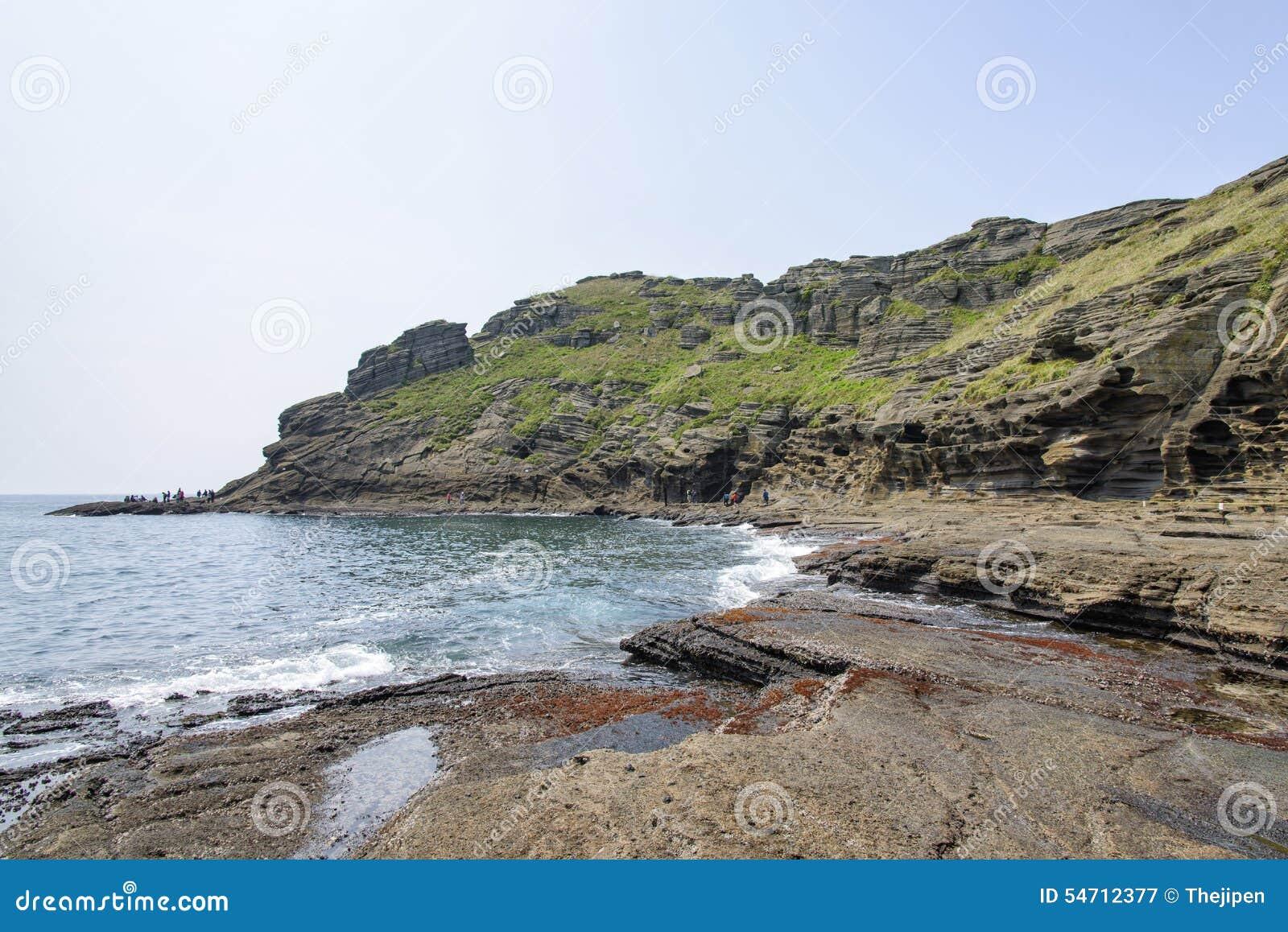 Landschaft von Yongmeori-Küste