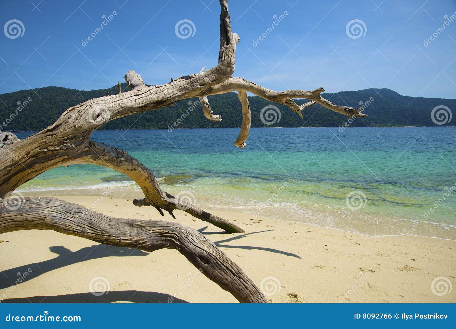 Landschaften des Adaman Meeres