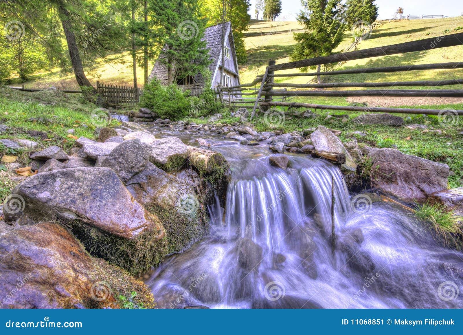 Landschaftgebirgslandschaft