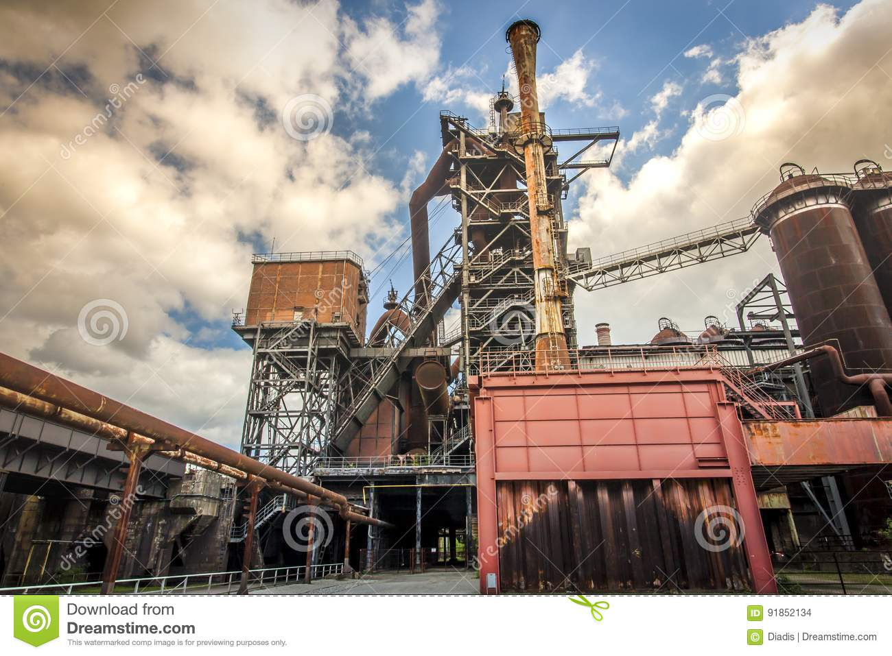 Landschaftspark Duisburg Nord Industral Culture Germany