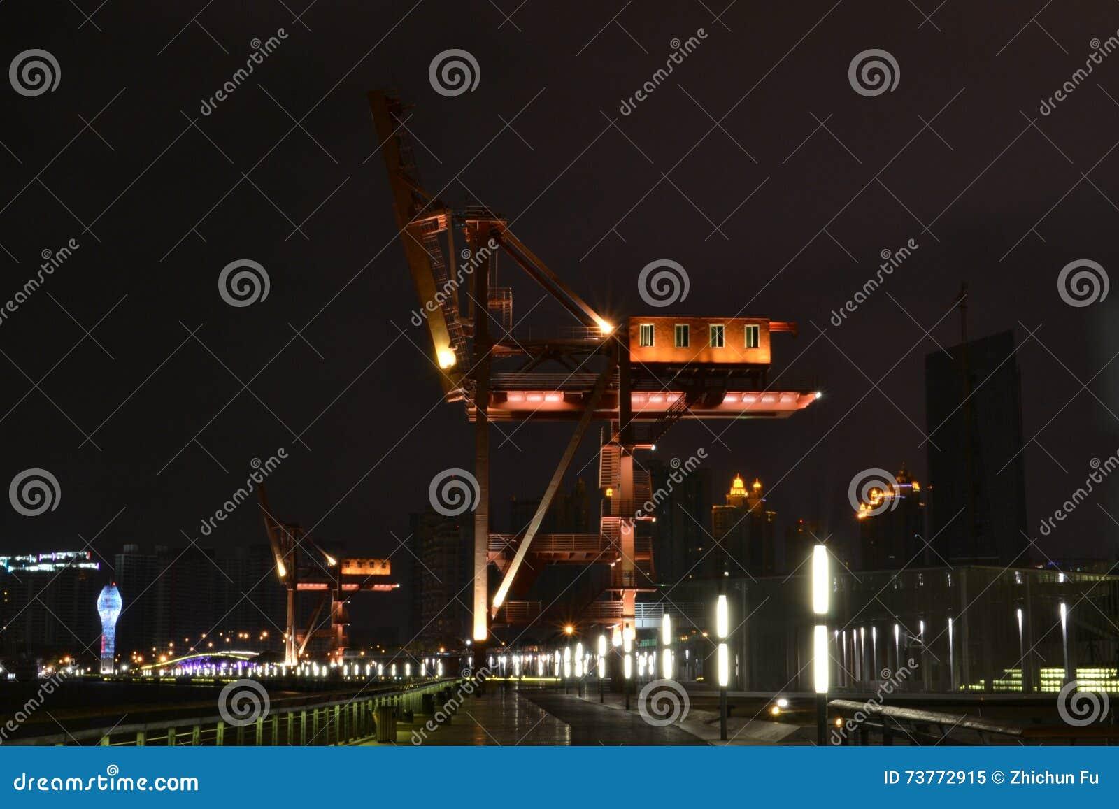 Landschap, Huangpu-rivieroever van XUHUI-district