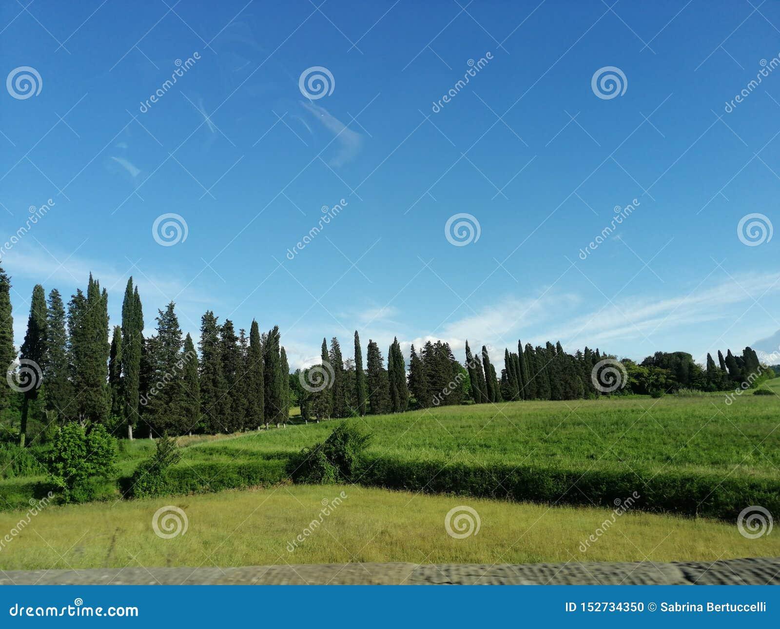 Landschap in Itali?