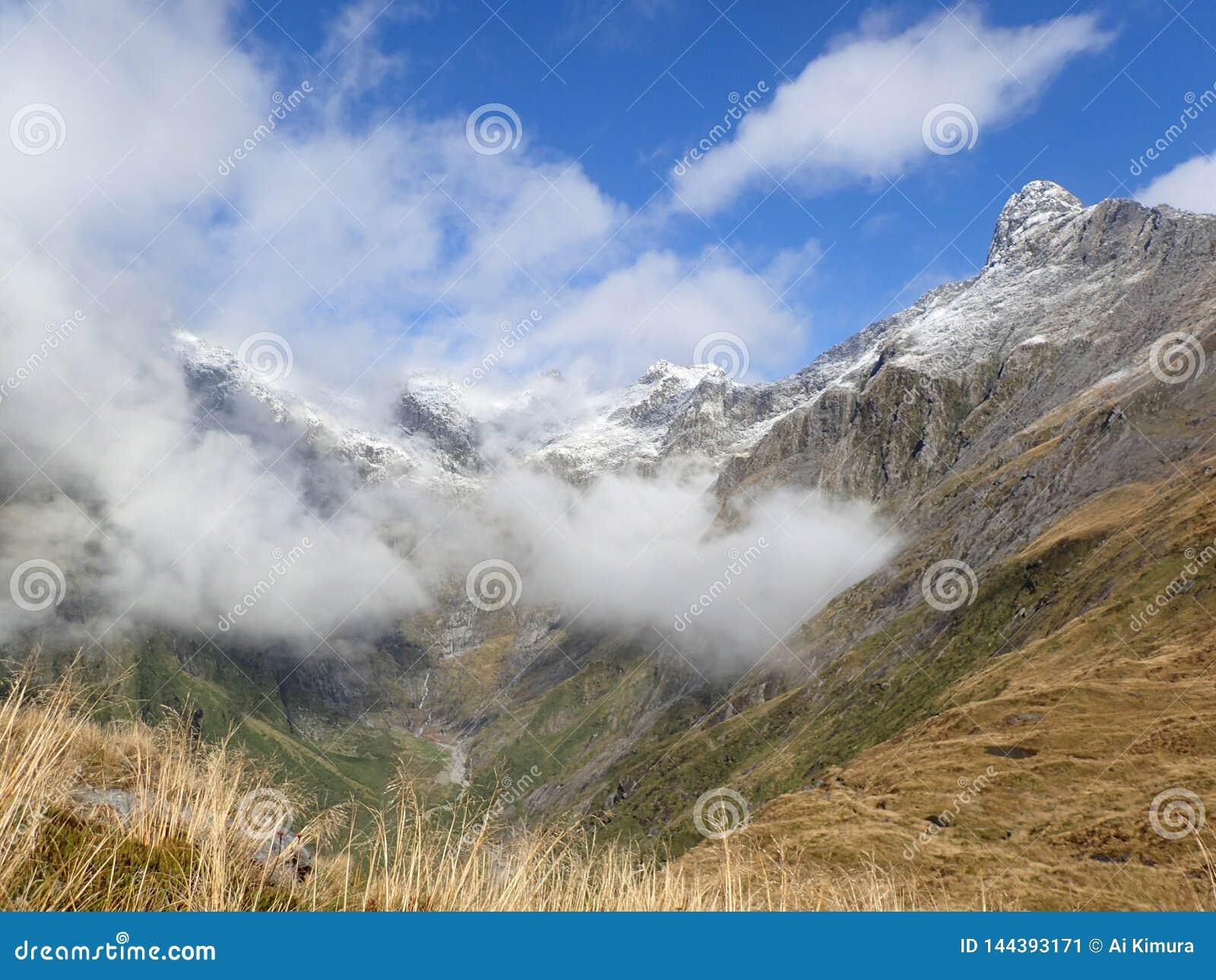 Landschap in Nieuw Zeeland