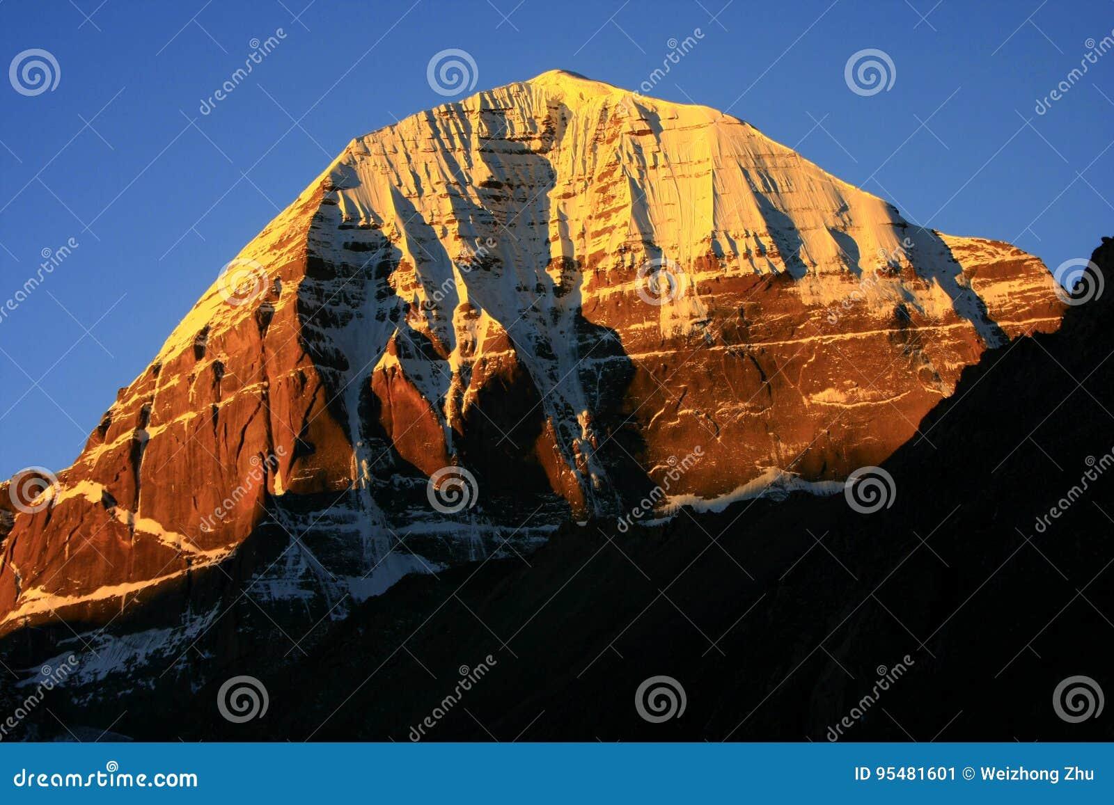 Landschap van Onderstel Kailash