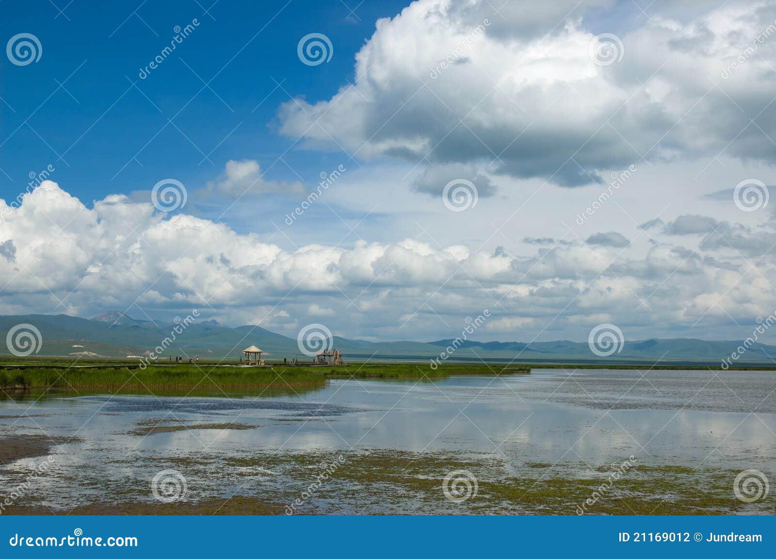 Landschap van tibetan plateau stock fotografie beeld 21169012 - Aperitief plateau huis van de wereld ...