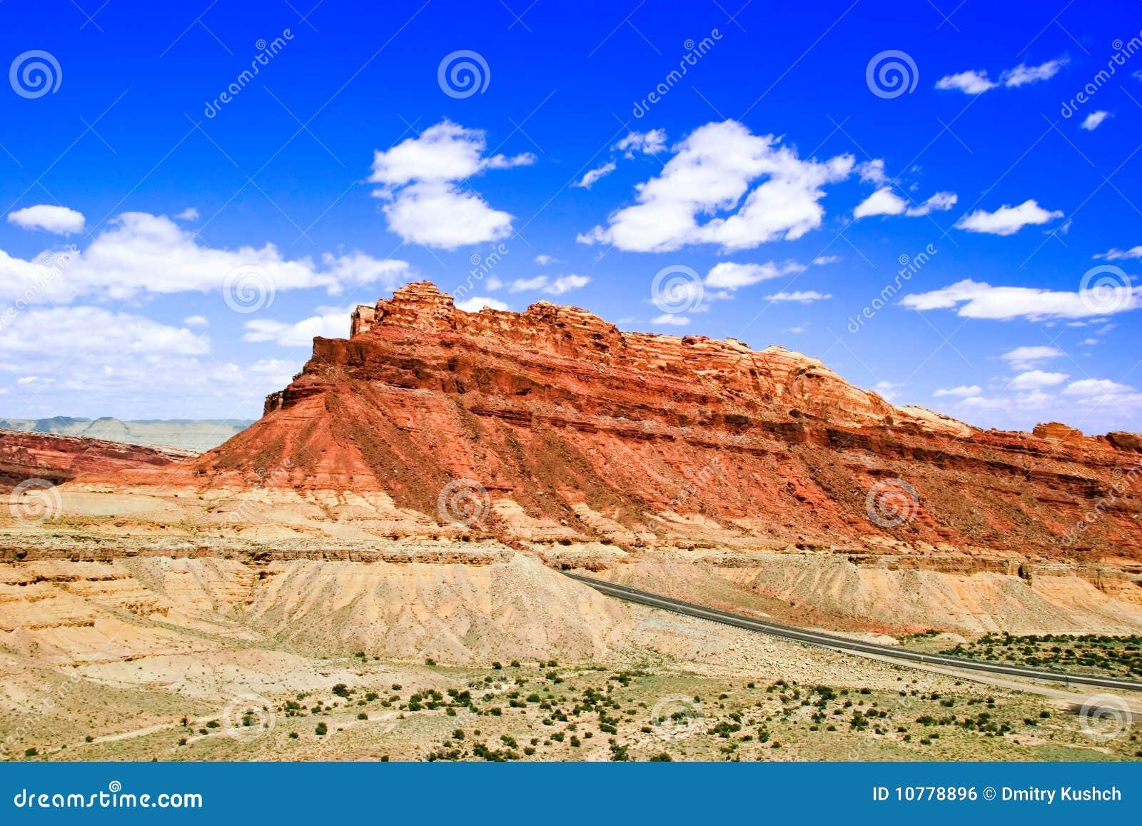 Landschap van Utah