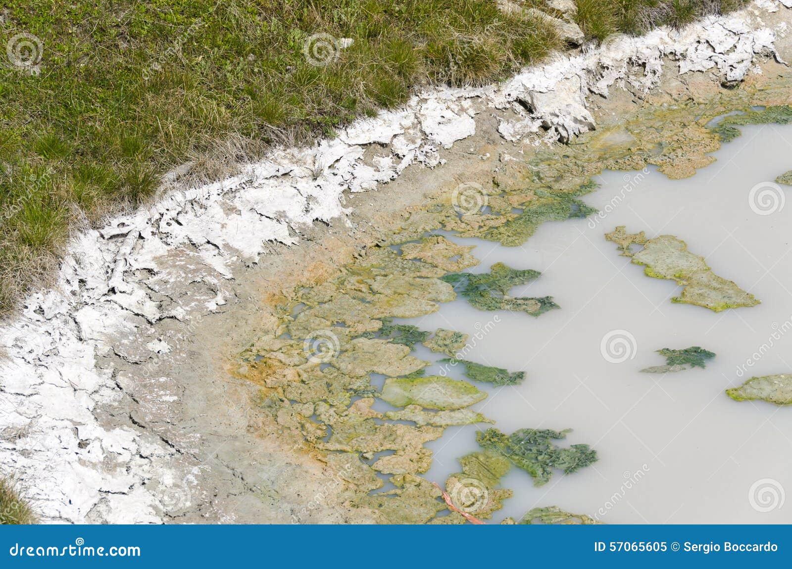 Landschap in Yellowstone