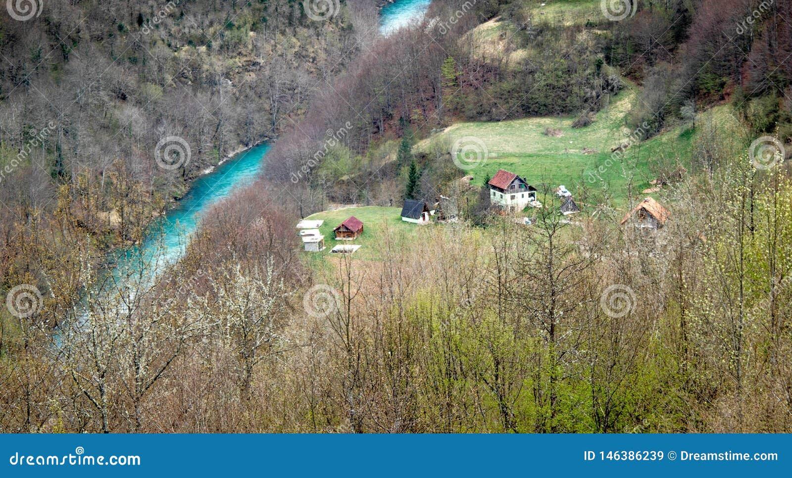 Landschappen van Montenegro