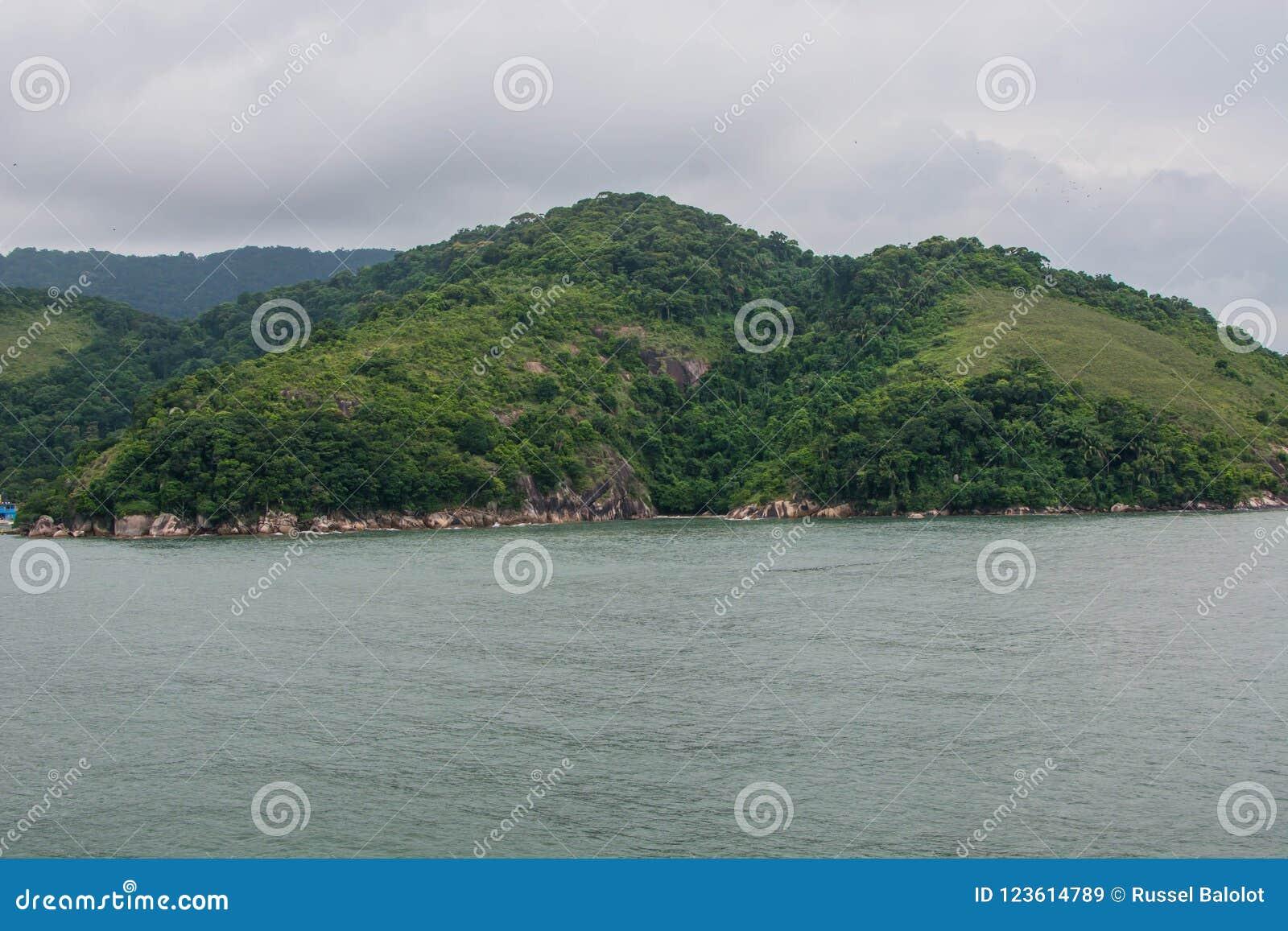 Landschaps overzees strand