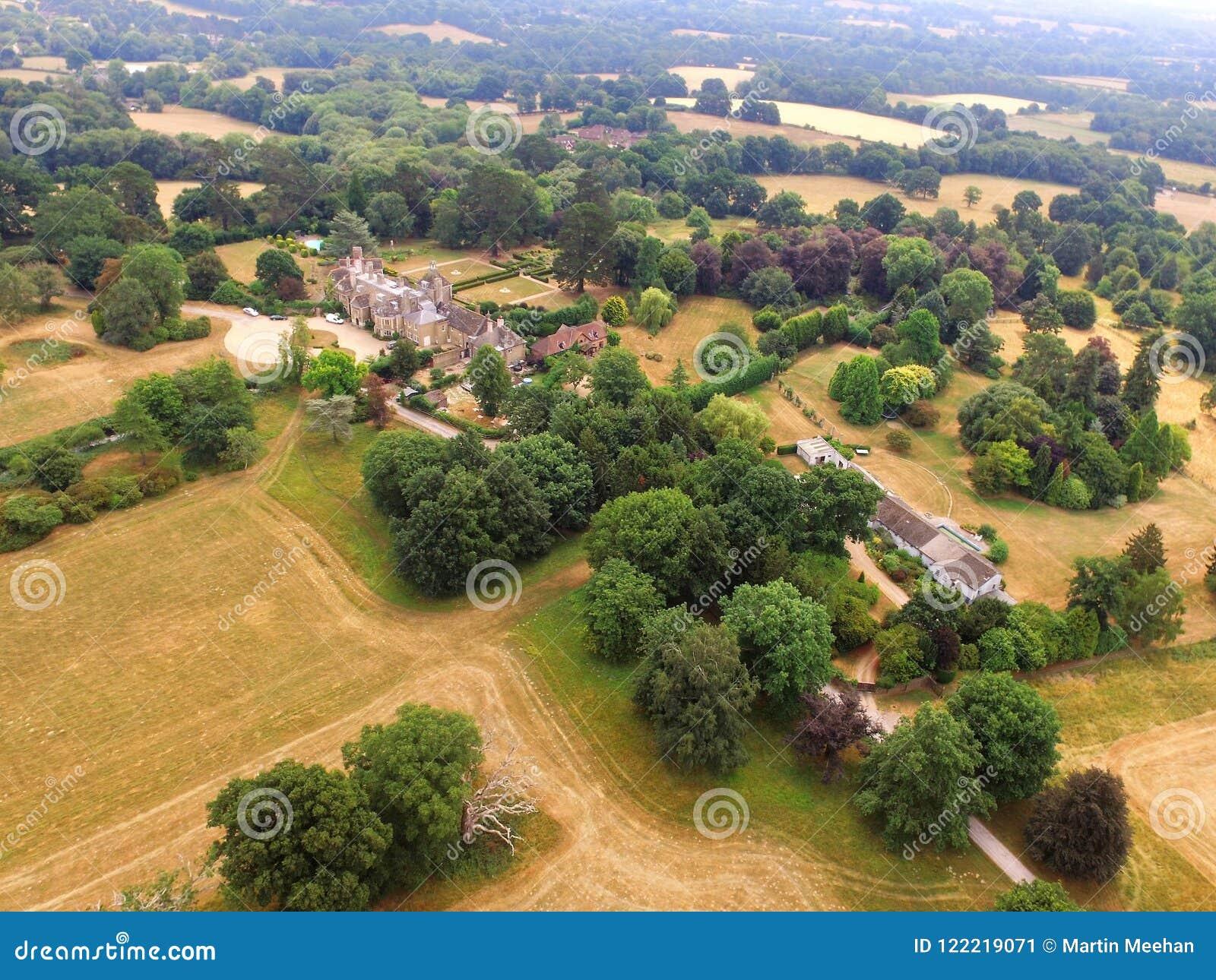 Landshus i västra Sussex