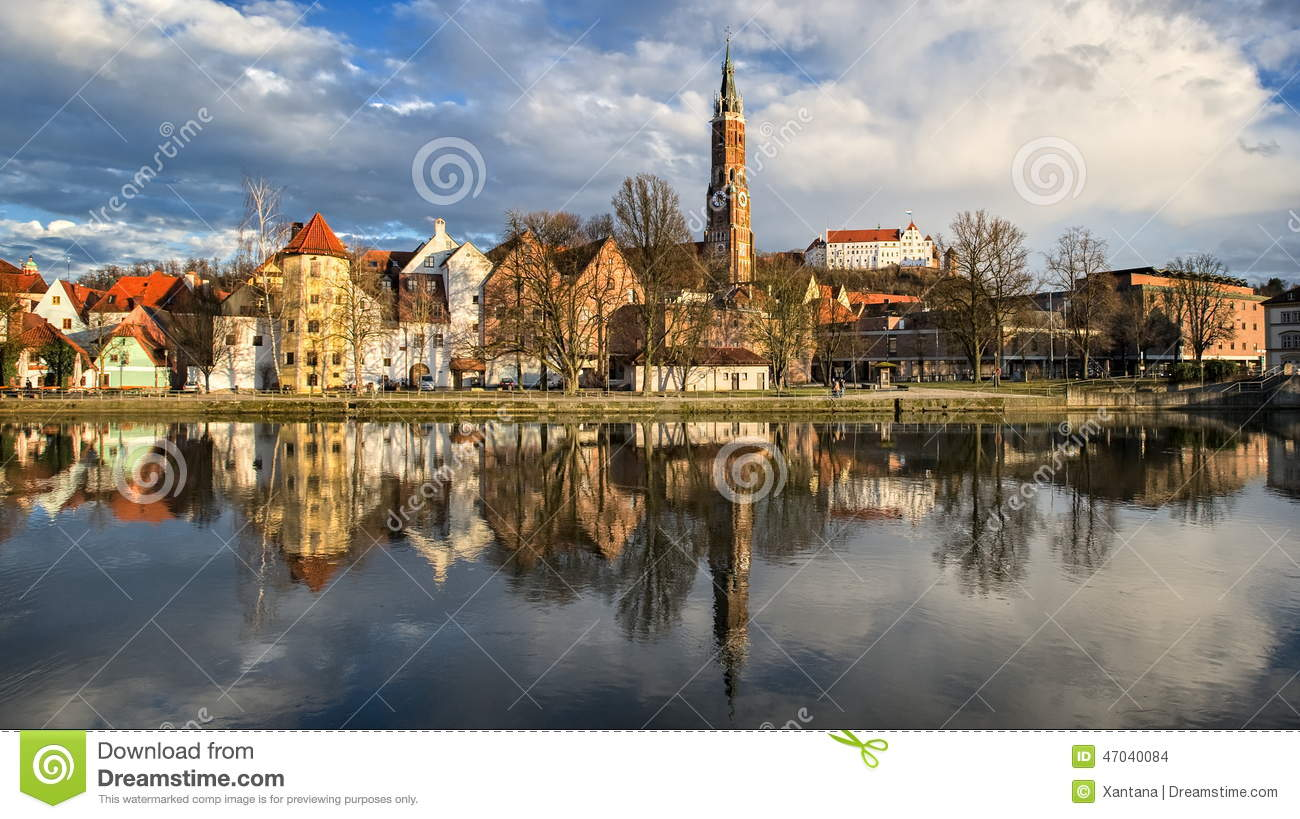 Landshut Germany Stock Photo Image 47040084