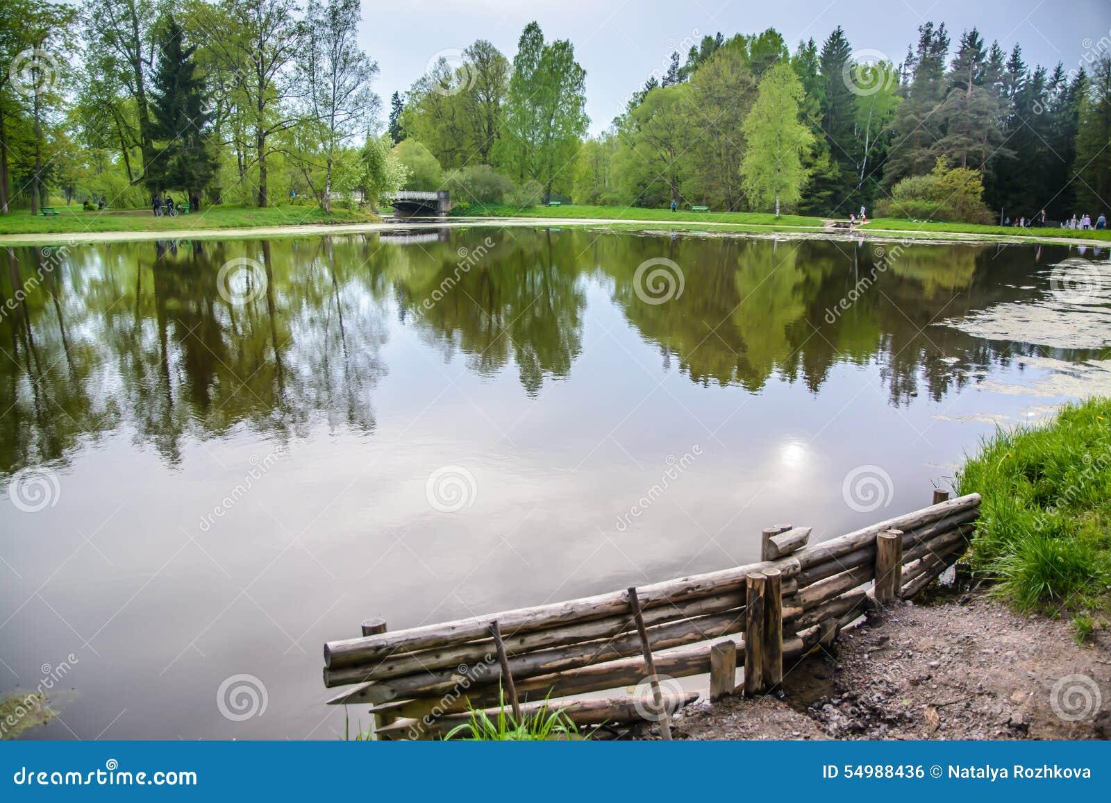 Landskap med laken