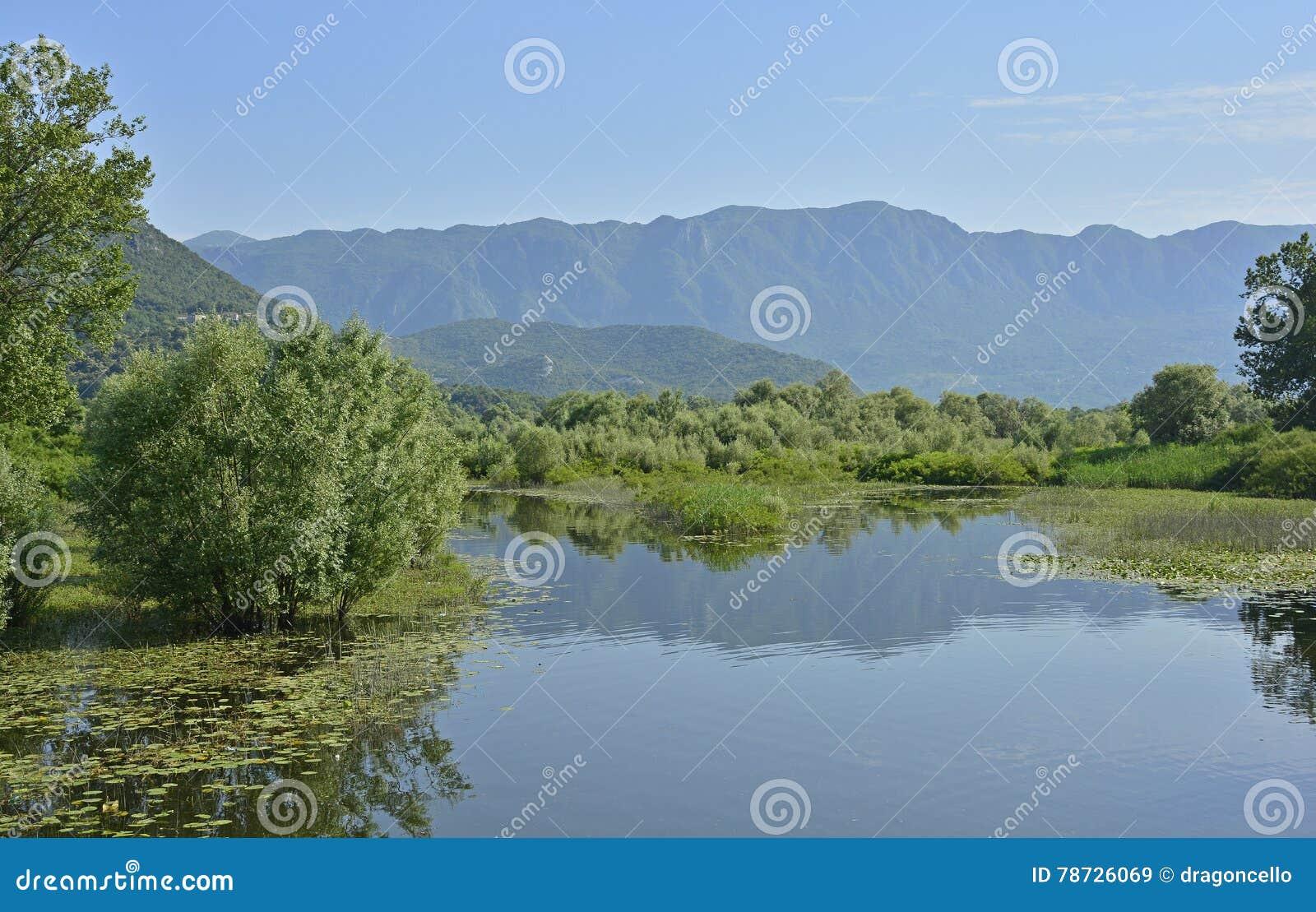 Landskap på Virpazar