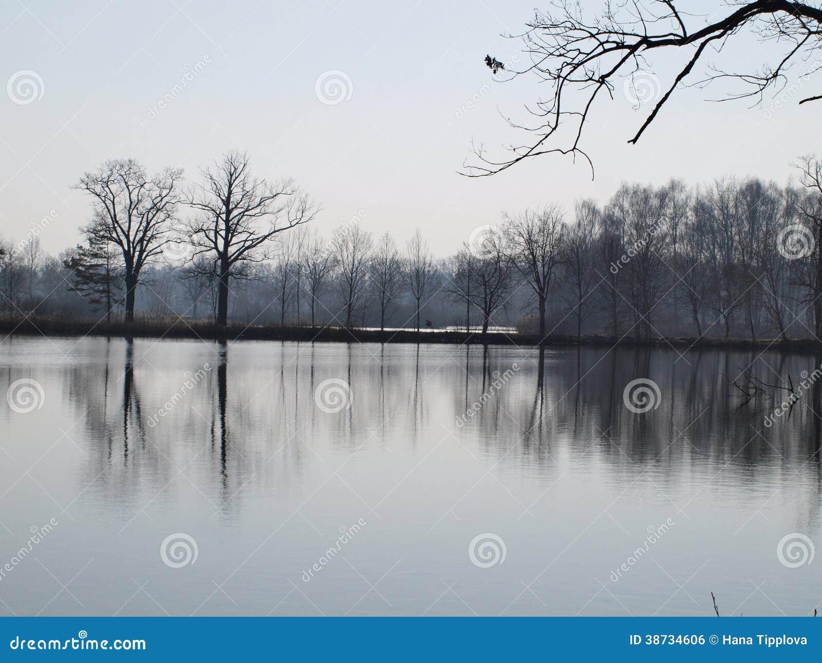 Landskapdamm, södra Bohemia