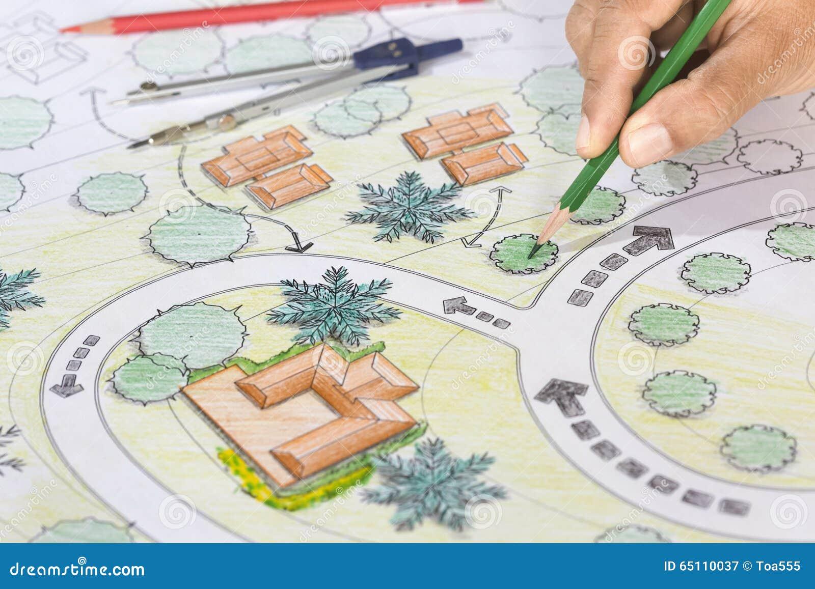 LandskapsarkitektDesigns Blueprints For semesterort