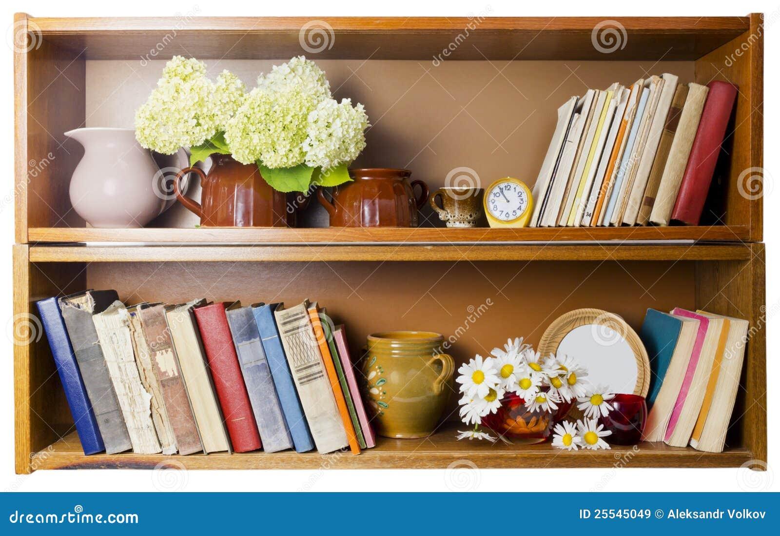 Landwirtschaftliches Bücherregal