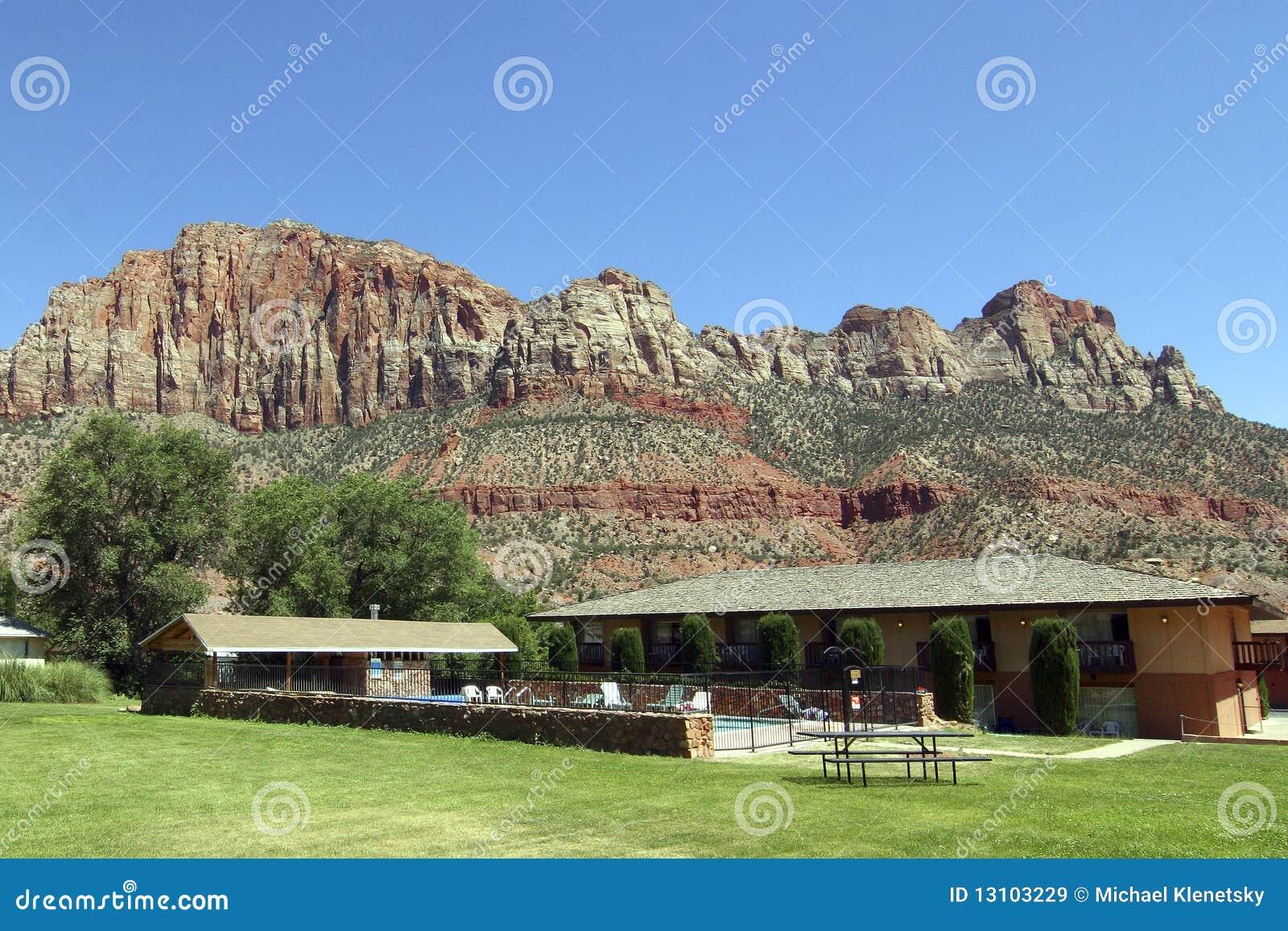 Landwirtschaftliches Motel