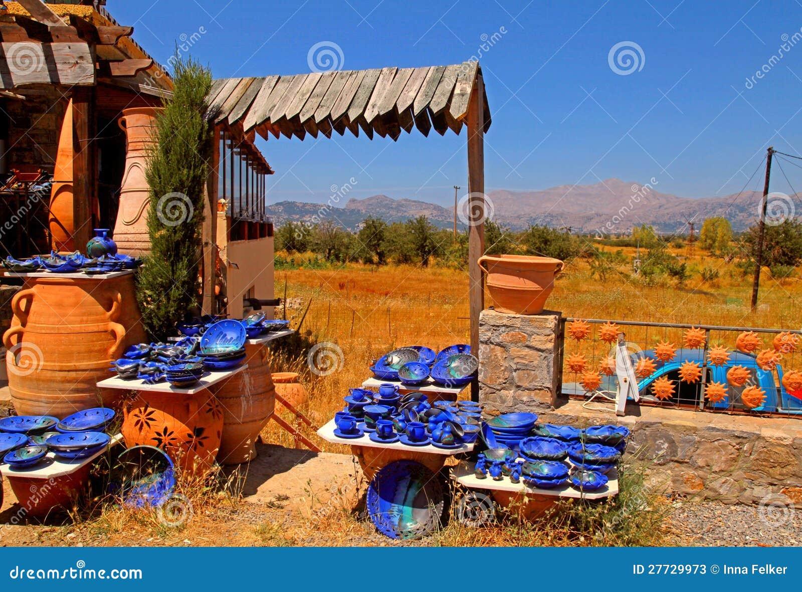 Landwirtschaftliches Tonwarensystem (Kreta, Griechenland)