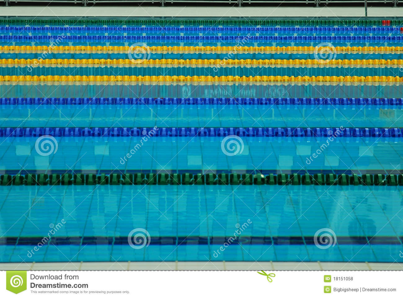 swimming pool lane lines background. Lane Lines Of A Swimming Pool Background