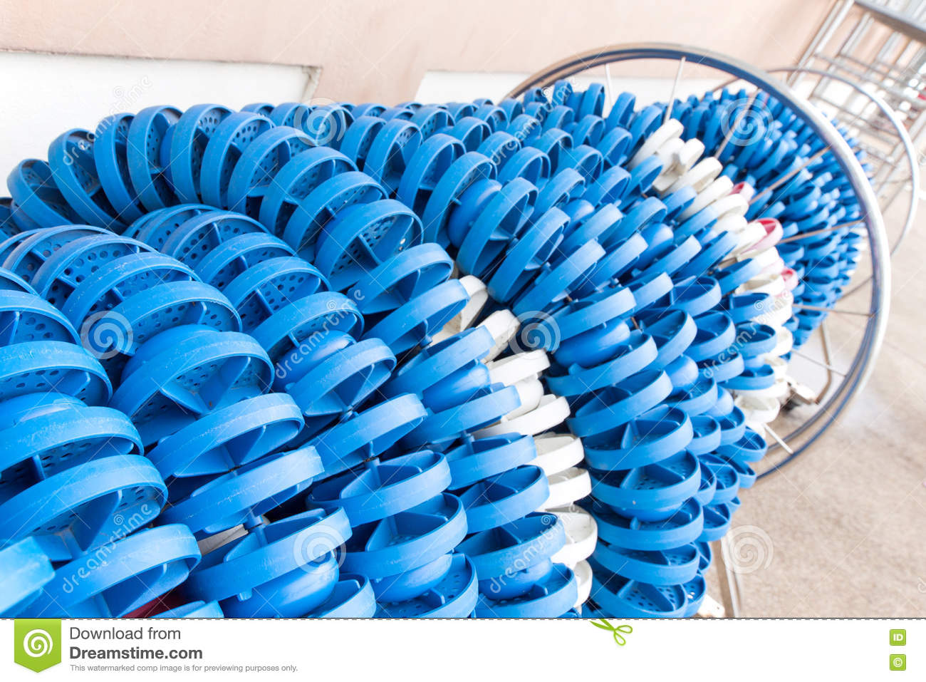 Lane rope storage swim stock image. Image of roll, spool ...