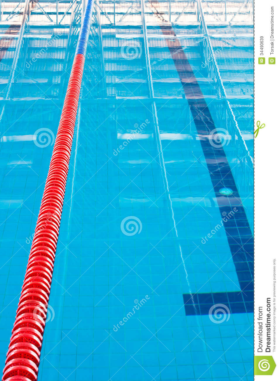 Lane Ropes Stock Image Image Of Plank Clear Line