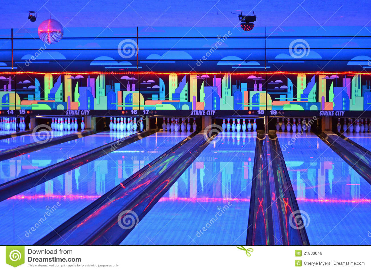 Lanes Editorial Photo Image Of Colors Blue Lights