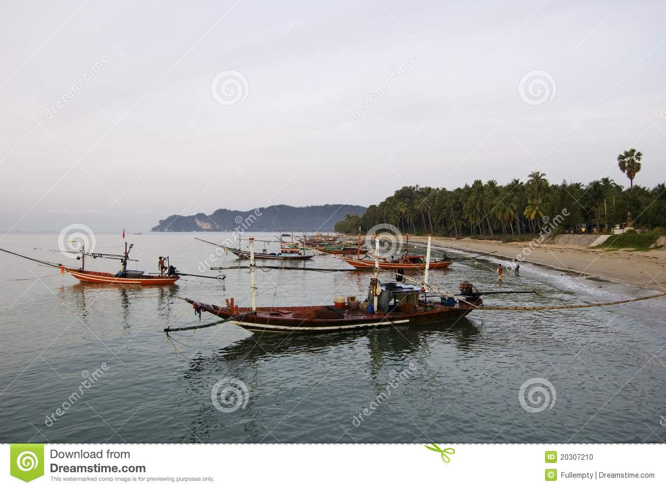 Lang-Hecks Boote in Thailand