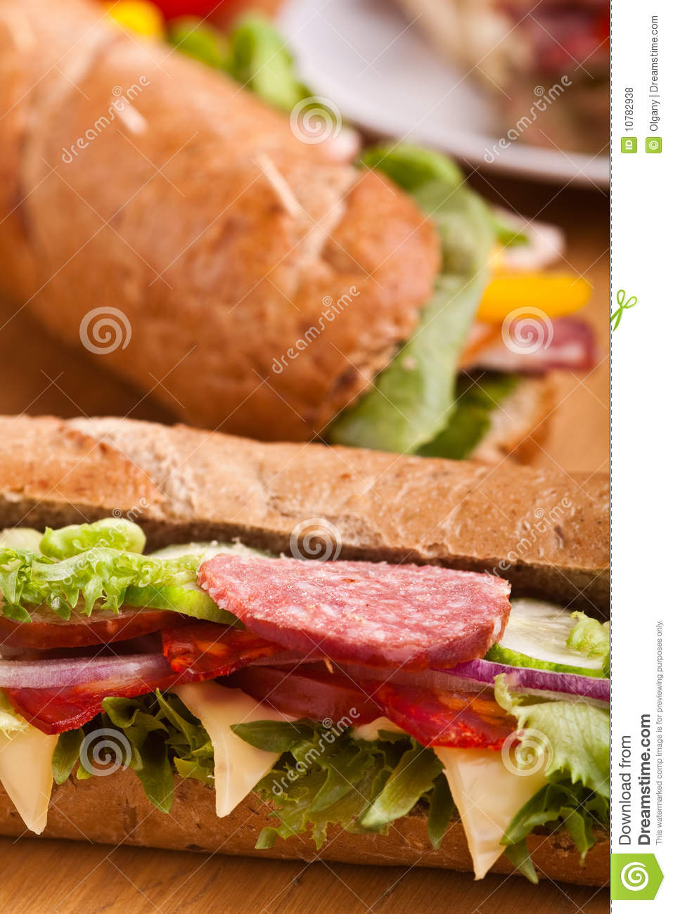 Lange subsandwiches