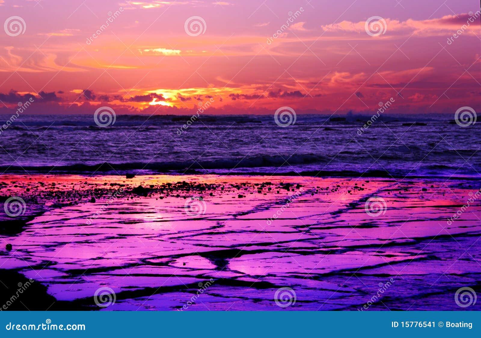 langer riff purpur sonnenaufgang stockbild bild 15776541. Black Bedroom Furniture Sets. Home Design Ideas