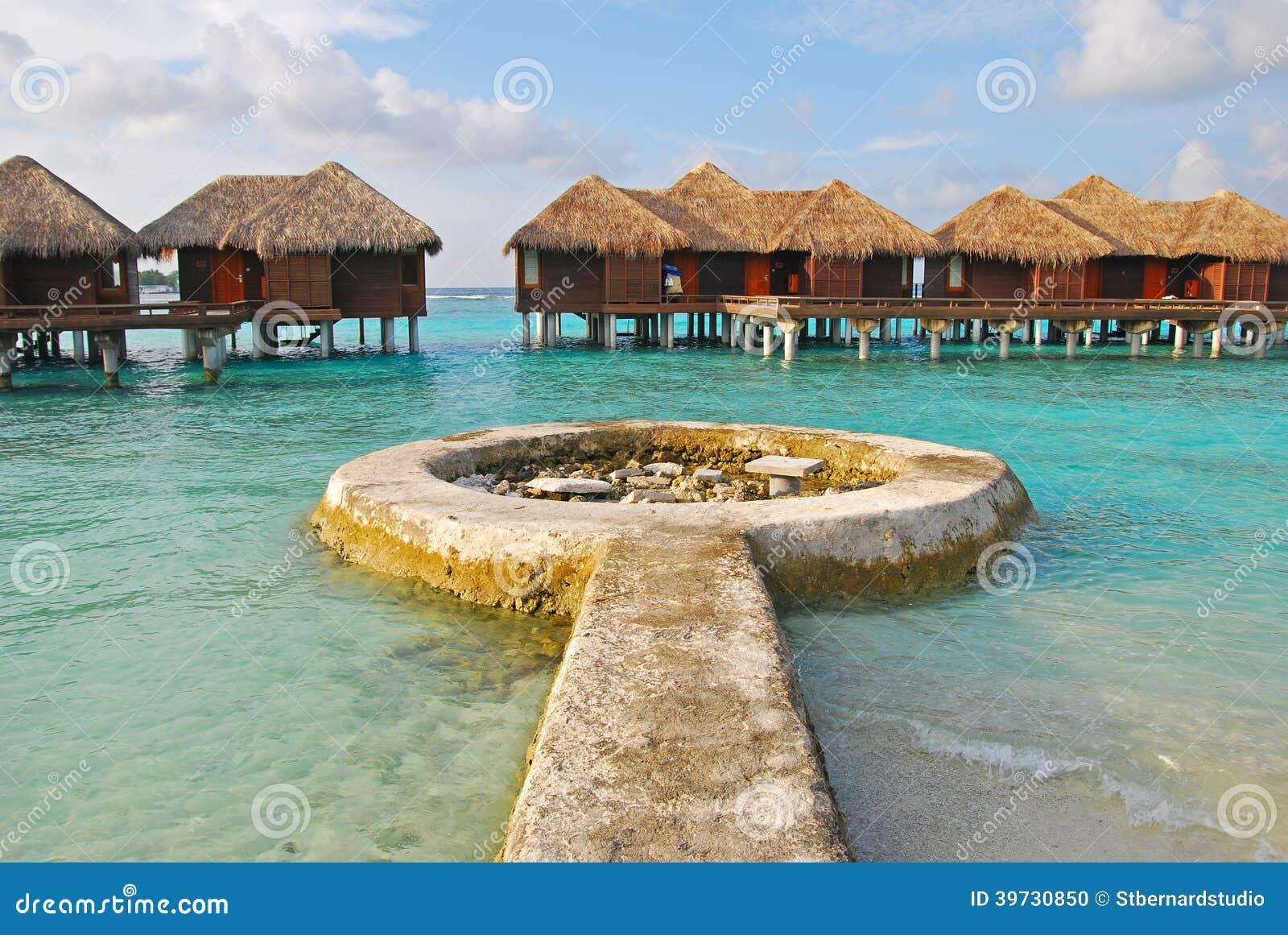 Langerwartete Insel-Ferien auf Overwater-Bungalow