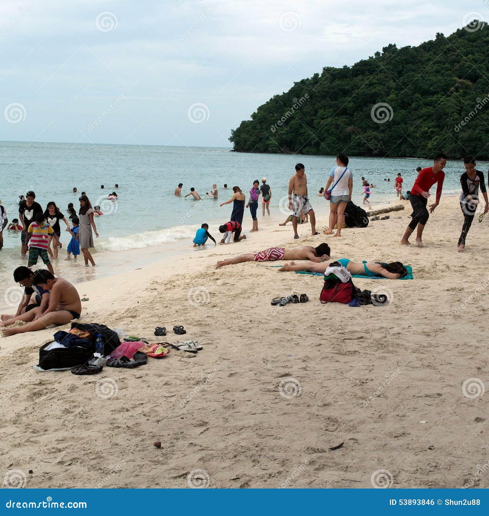 Malaysia Beaches: Langkawi Beach Editorial Photo. Image Of Basah, Island