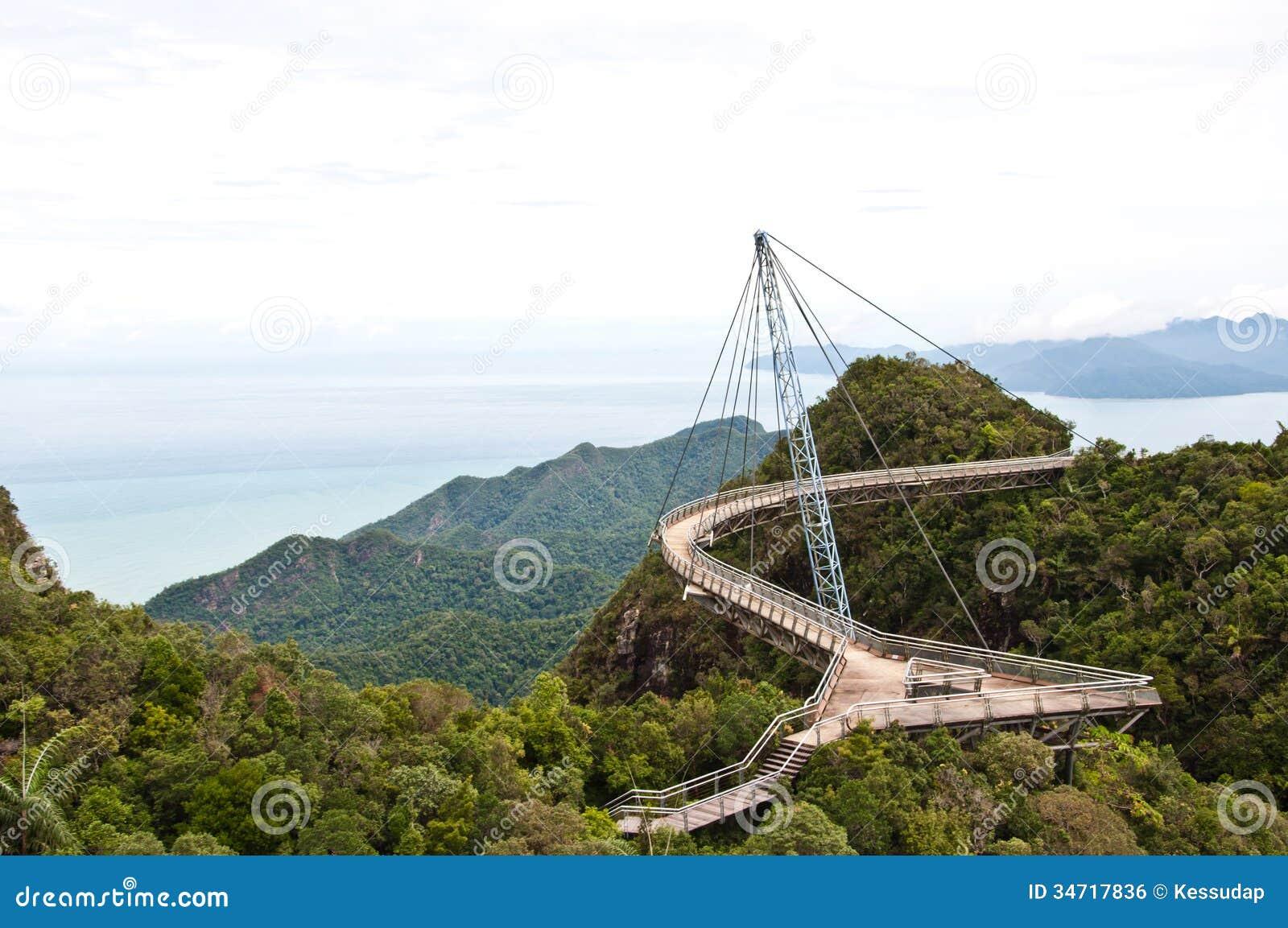 The Langkawi Sky Bridge In Langkawi Island Royalty Free