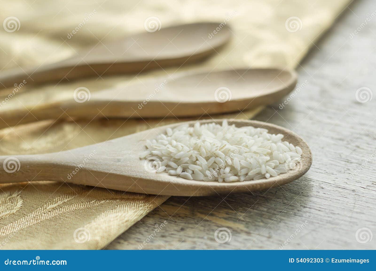 Langkorrelige rijsten Kokende Achtergrond